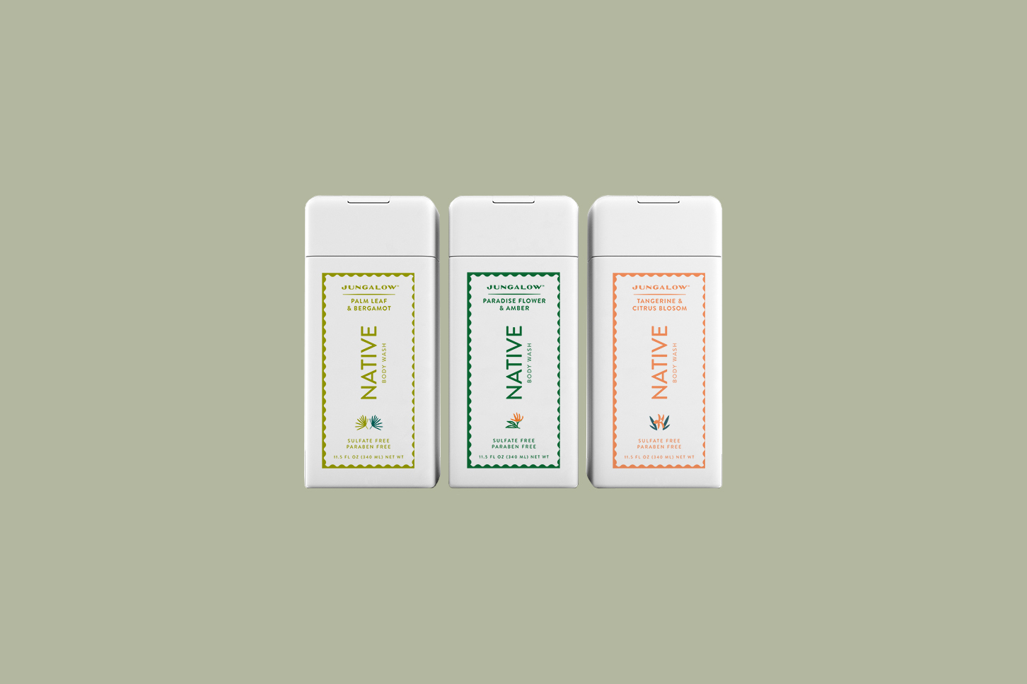 native jungalow body wash