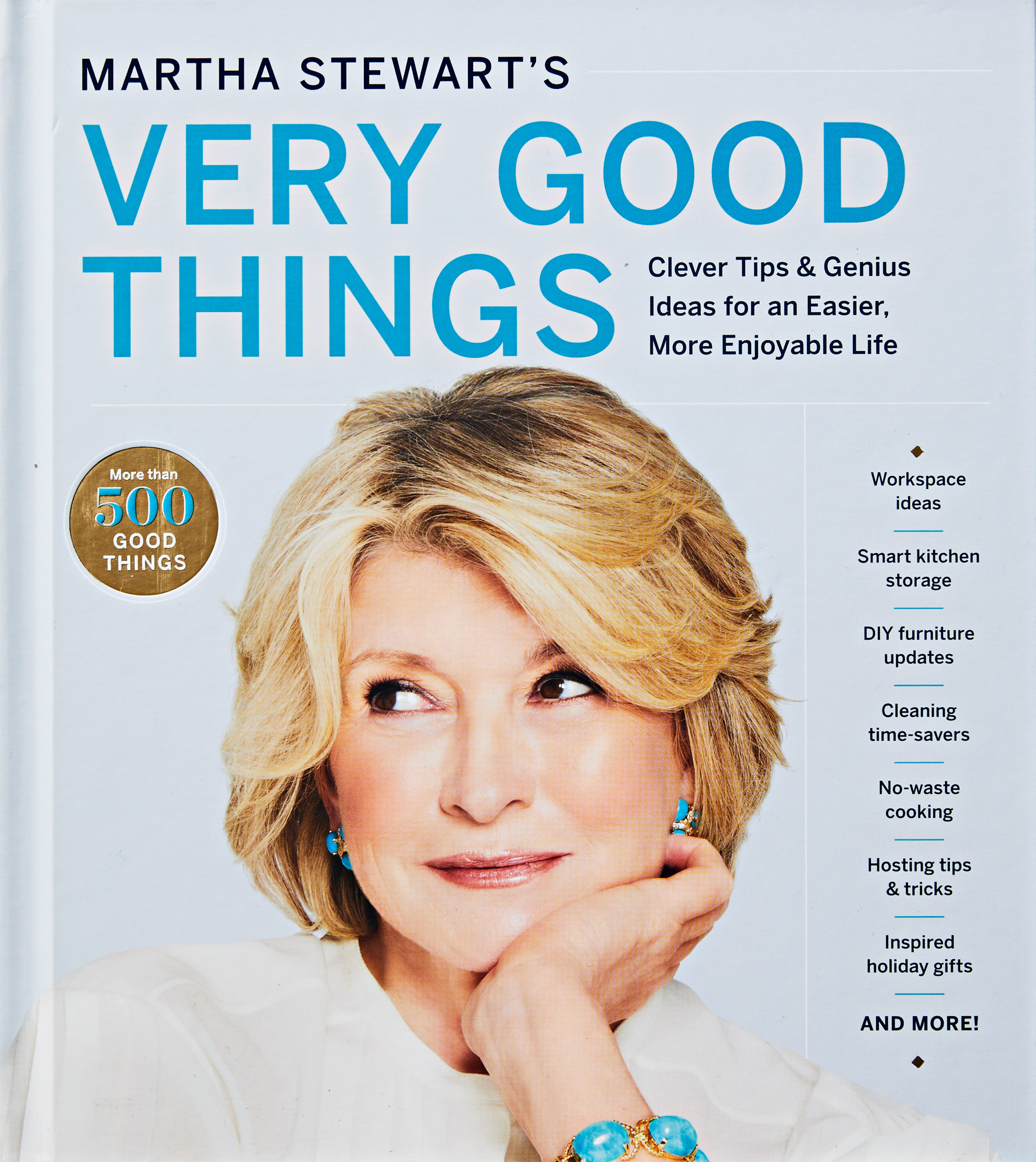 """book cover of """"Very Good Things"""" by Martha Stewart"""