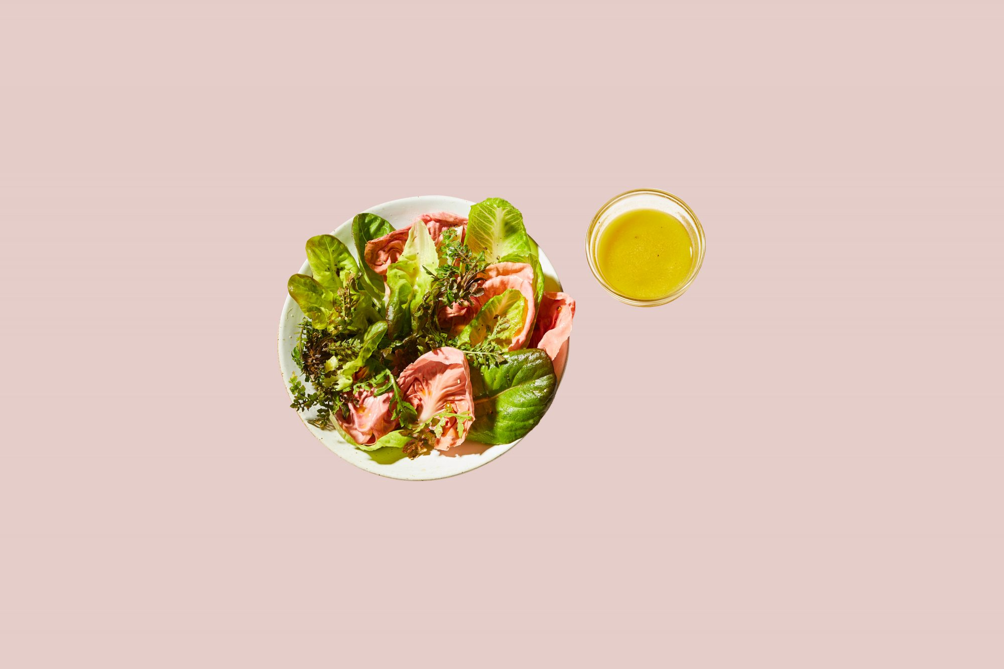 marthas favorite vinaigrette served with mixed greens