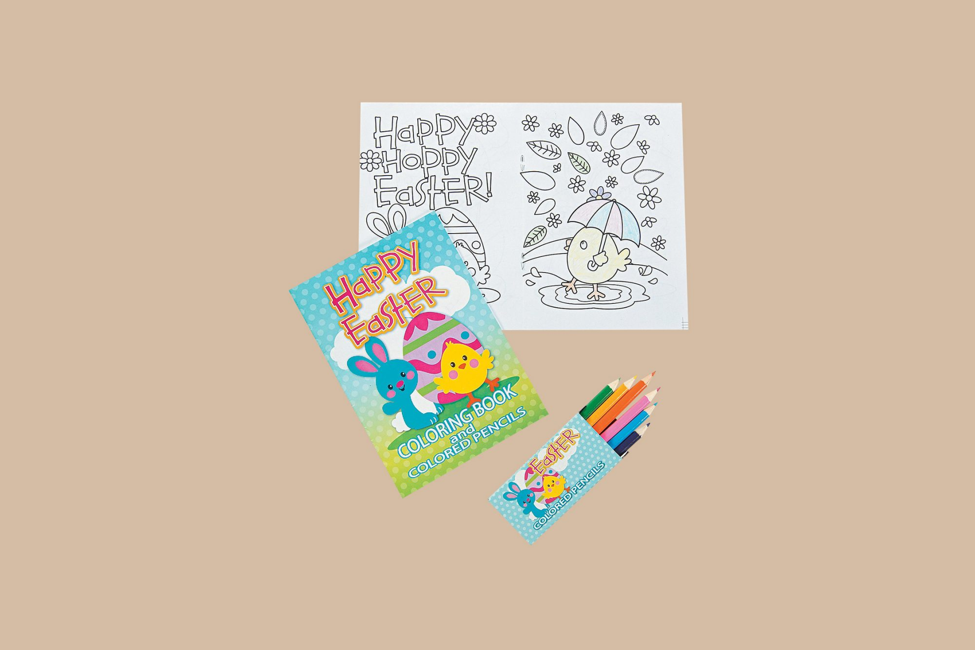 oriental trading easter coloring book