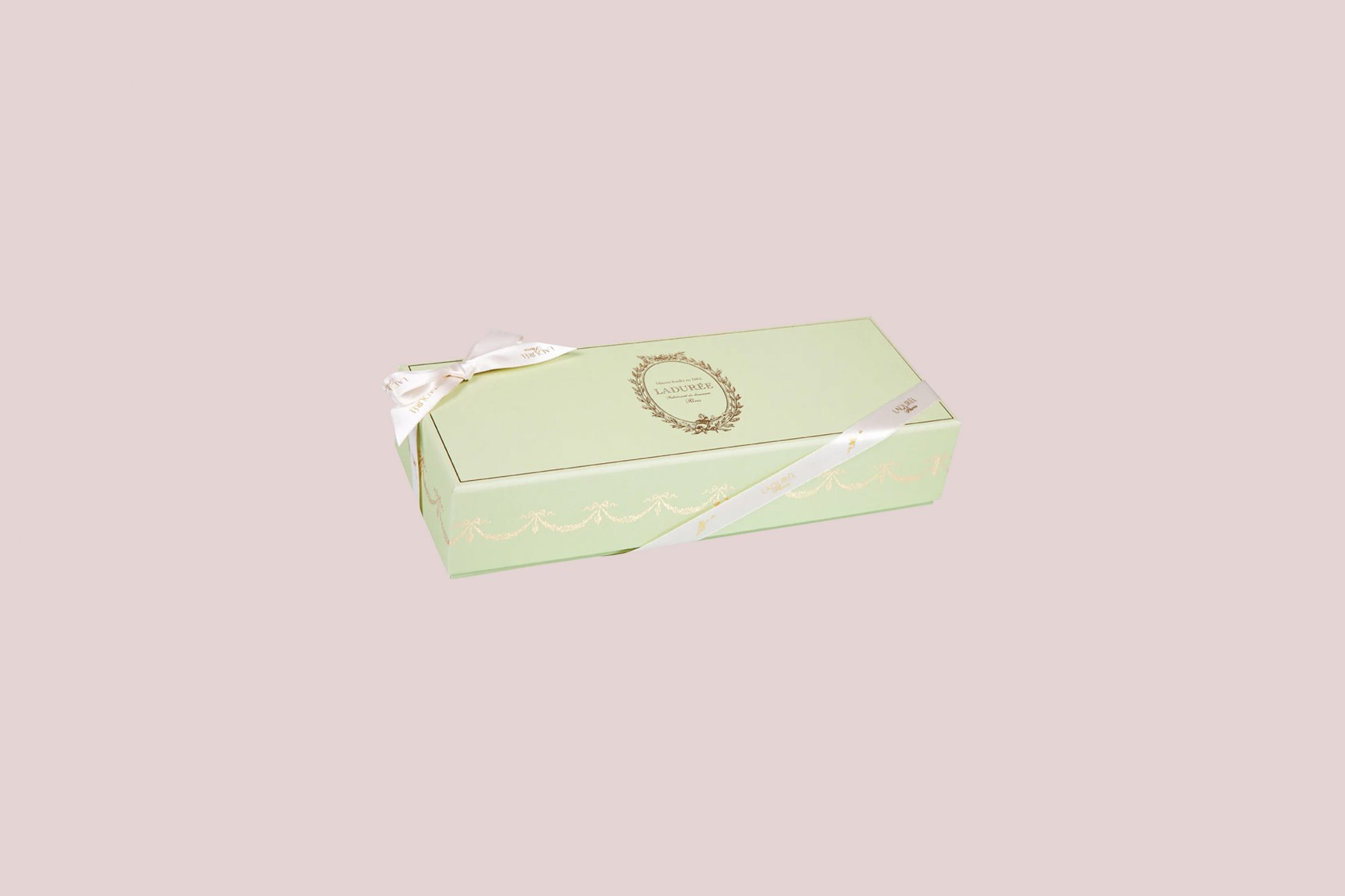 Ladurée Prestige Green Box of Macarons