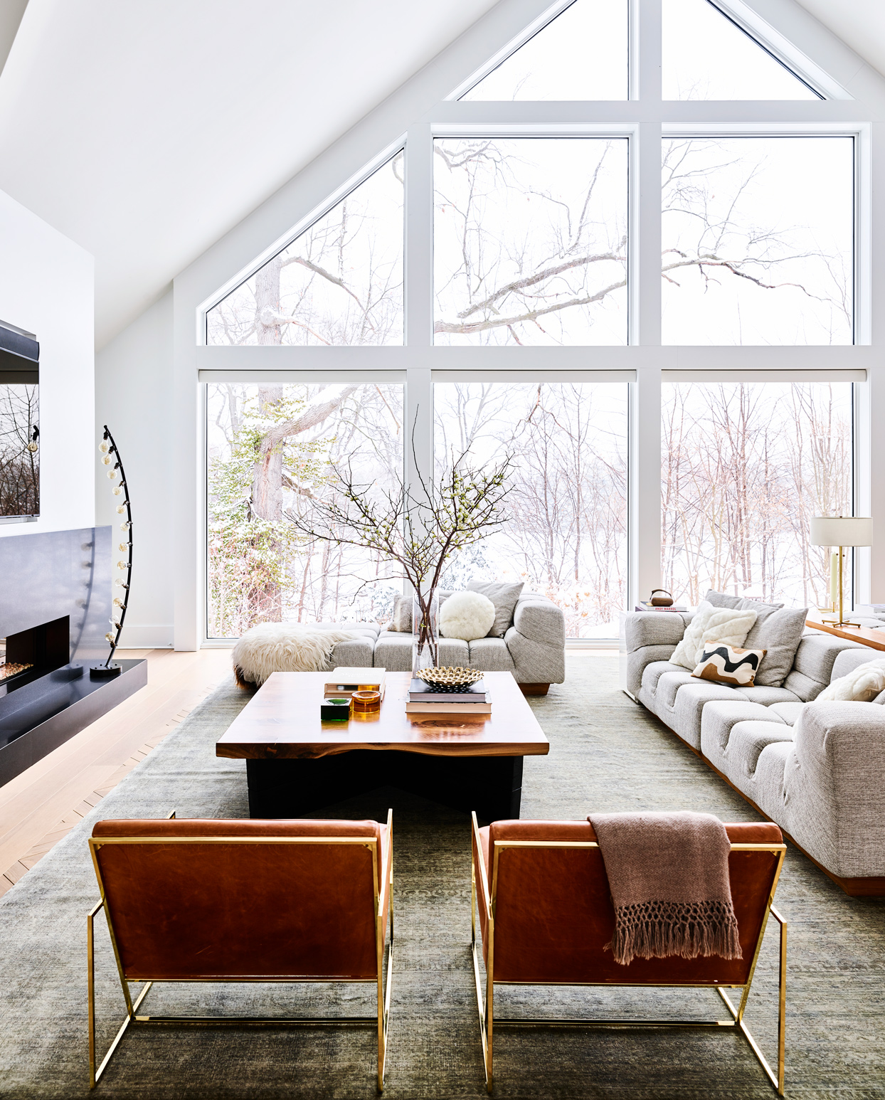 large living room with natural light