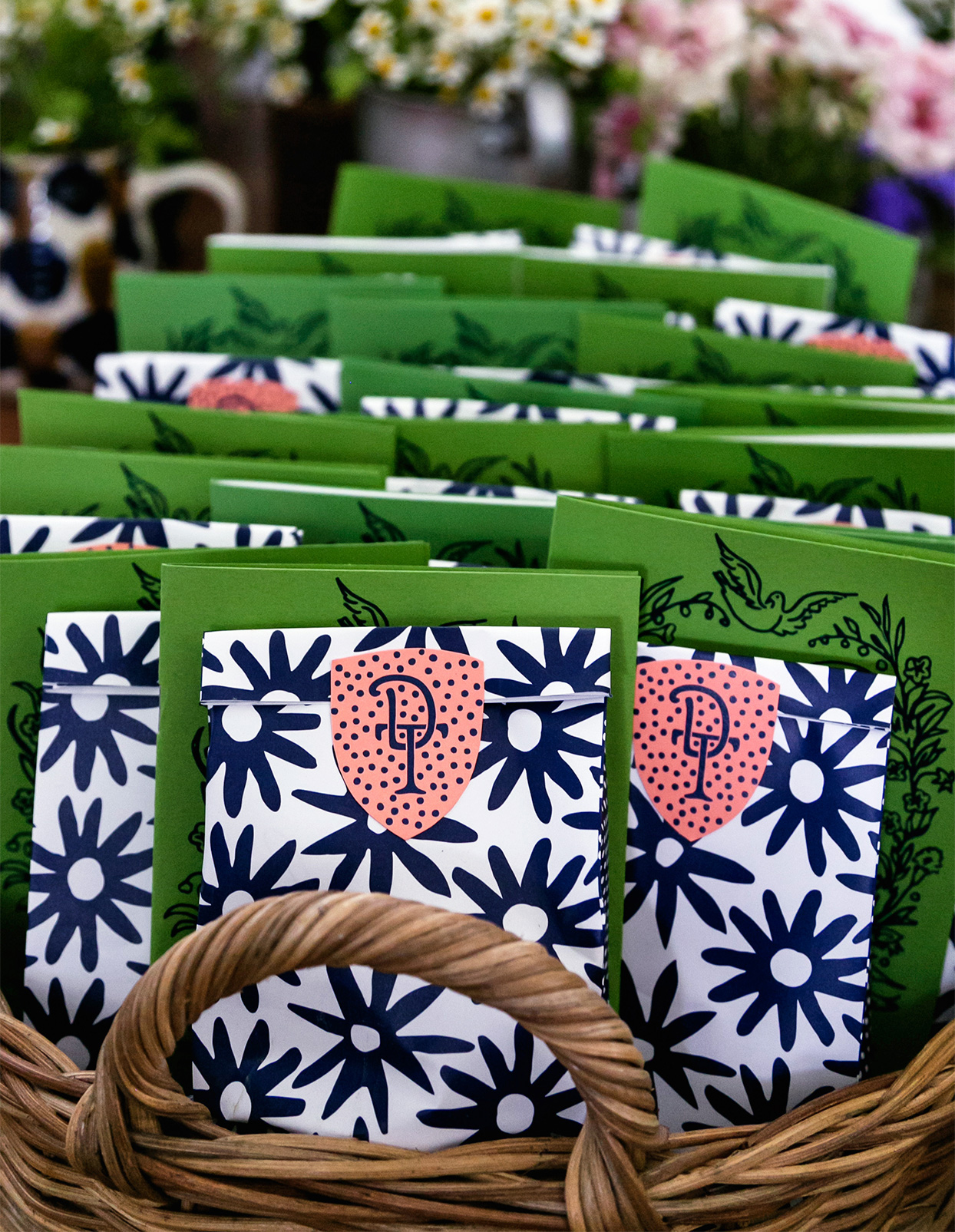 colorful and whimsical goodie bags