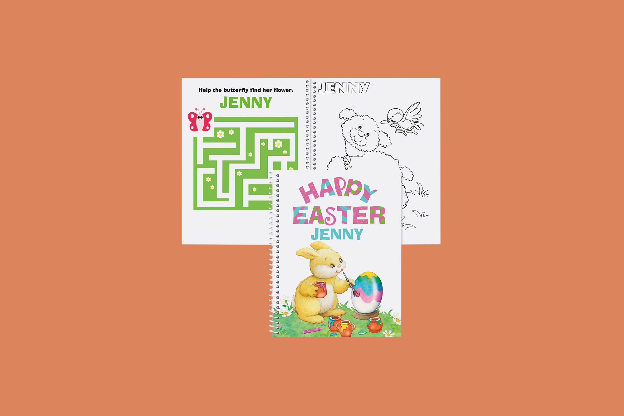 Lillian Vernon Easter Coloring and Activity Book for Girls
