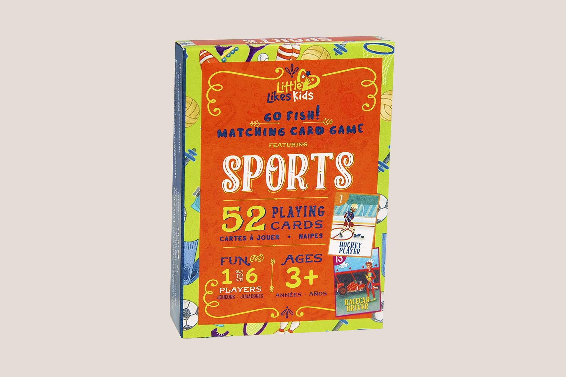 Little Likes Kids Sports Go Fish Cards