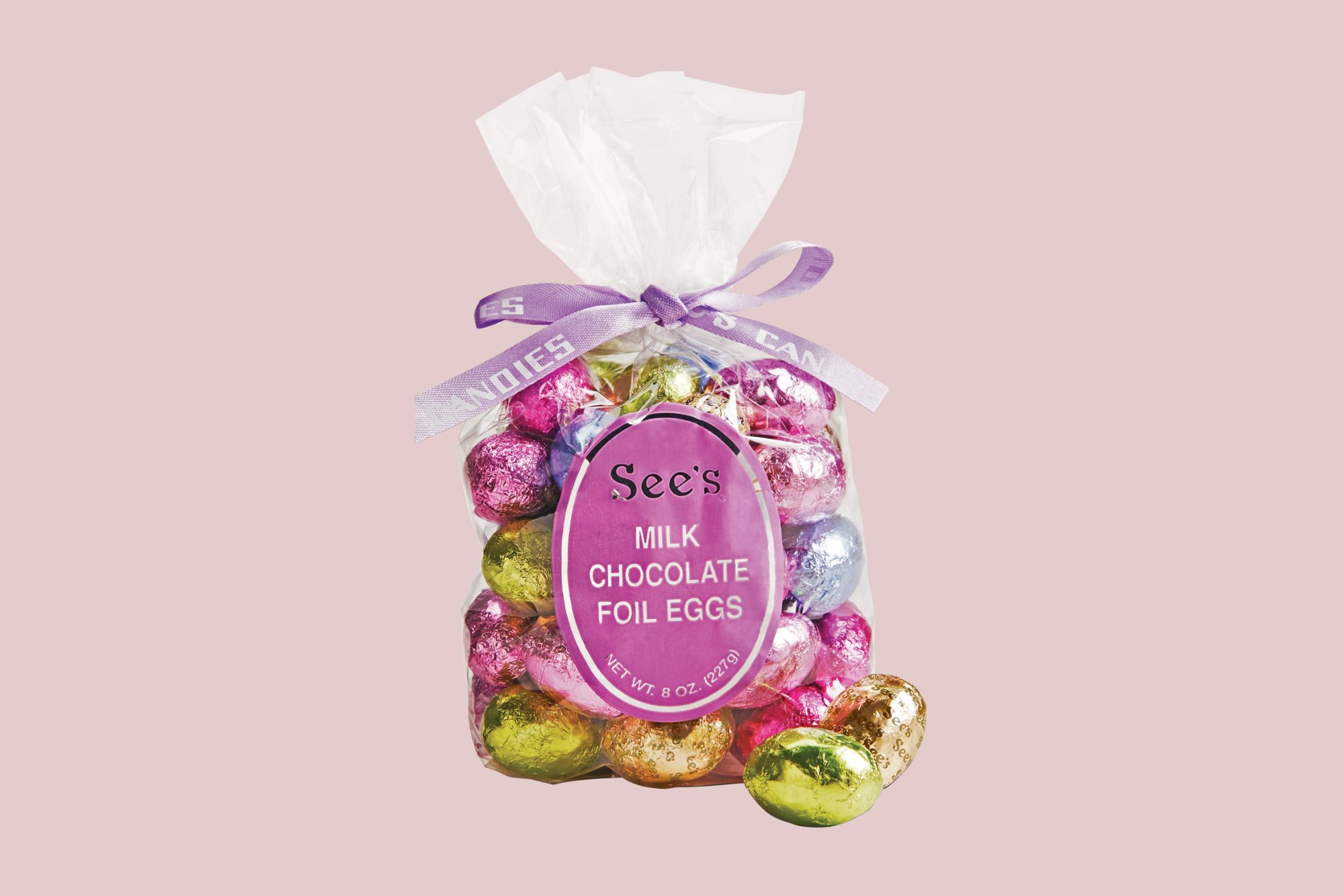 See's Candy Milk Chocolate Foil Eggs