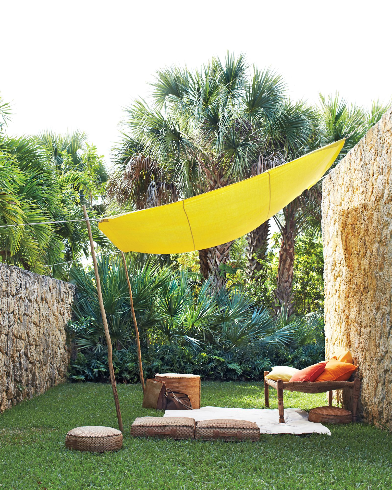backyard canopy shade