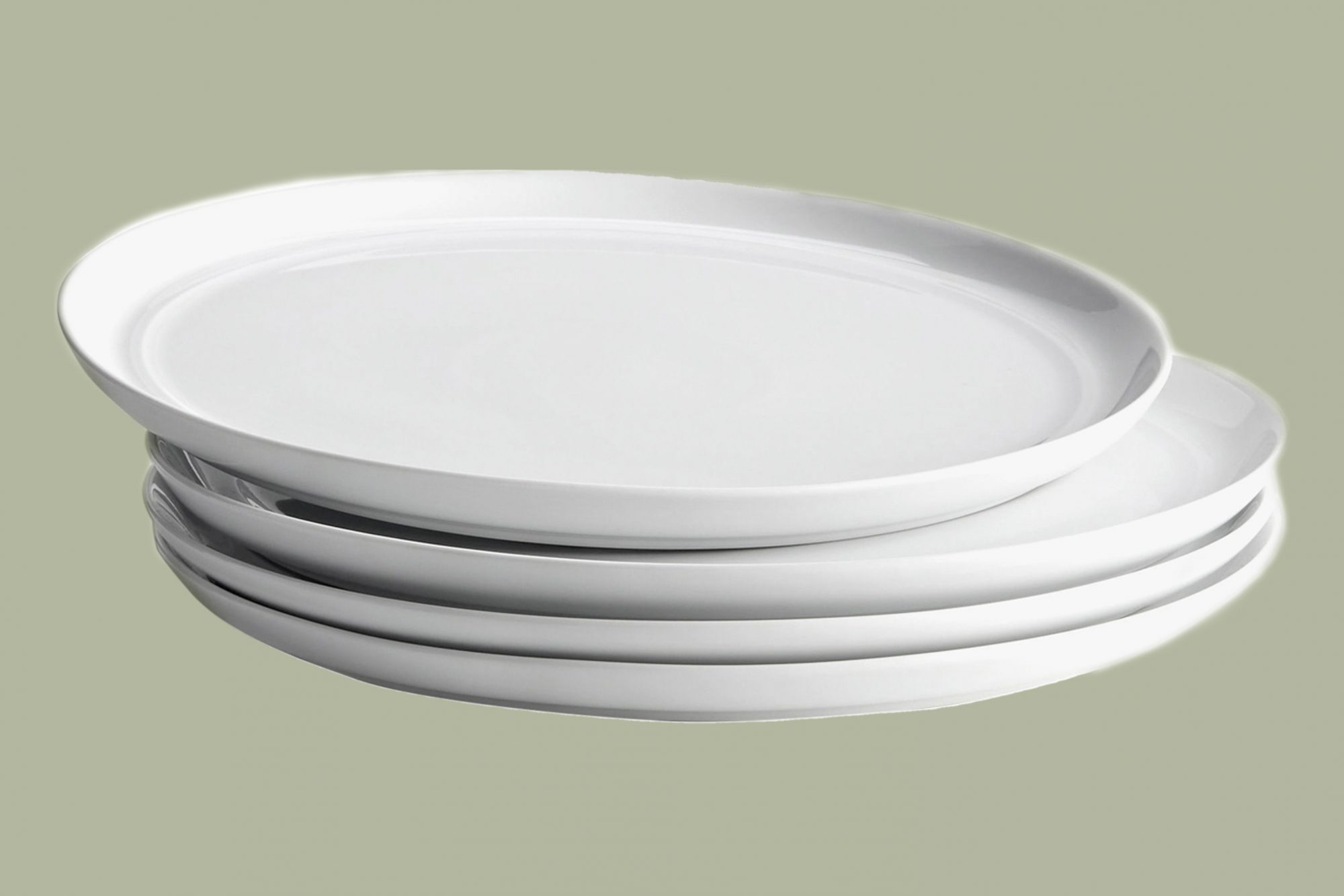 Aaron Probyn Hue dinner plates in White