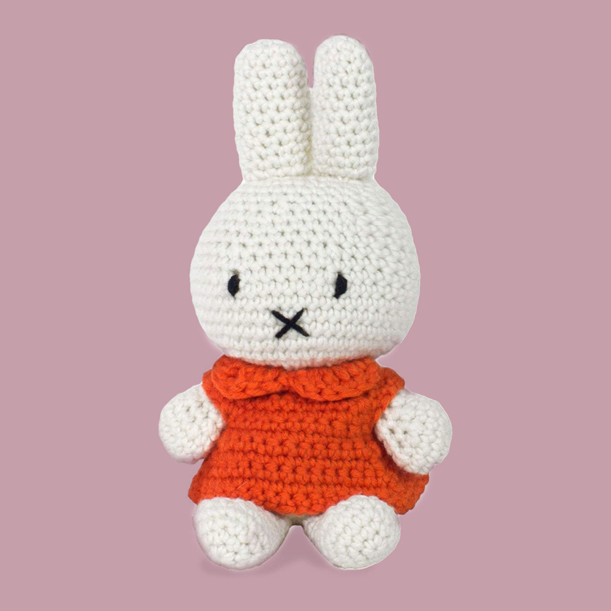 crocheted toy bunny