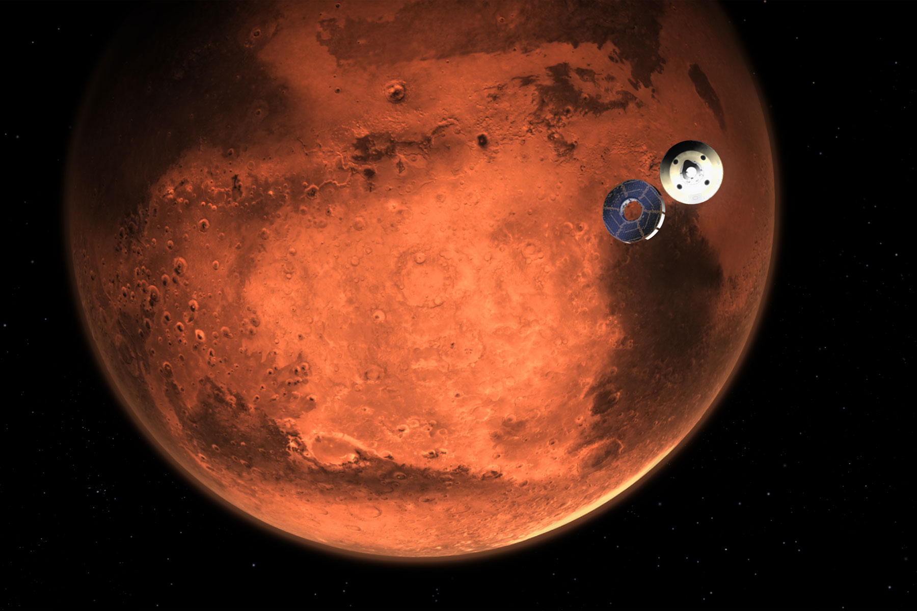 mars space mission with china and uae