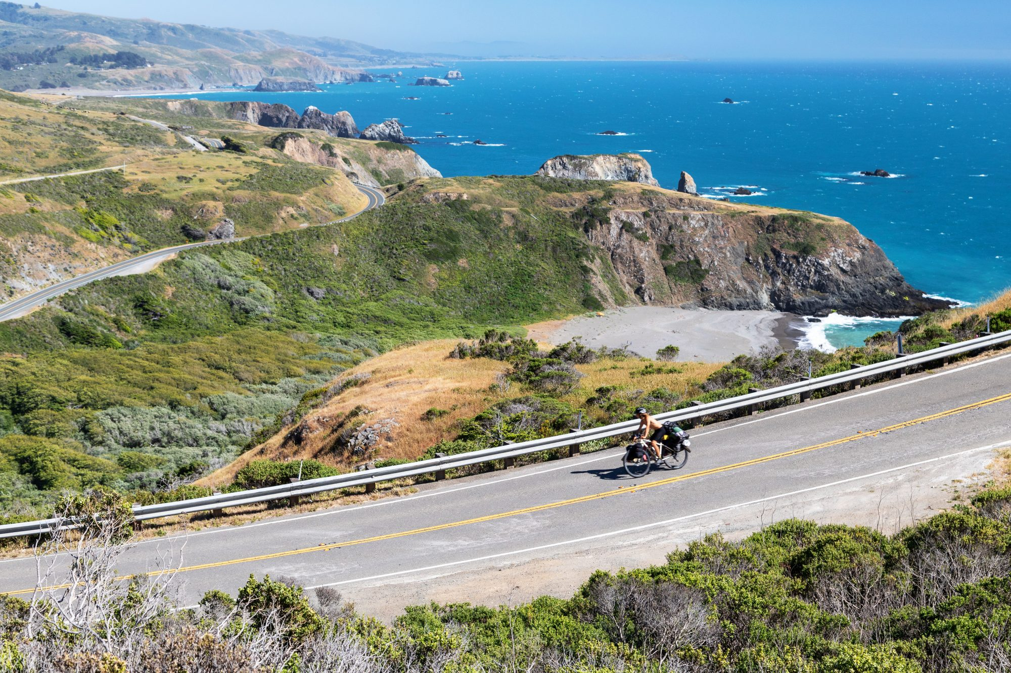 coastal overlook of california highway one