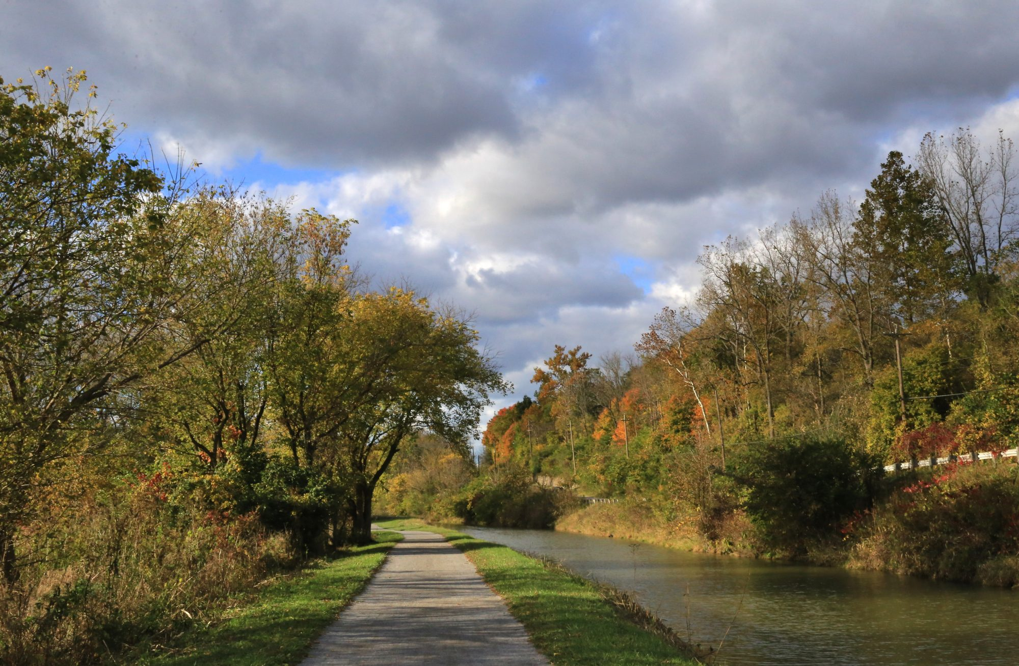ohio erie canal bike trail