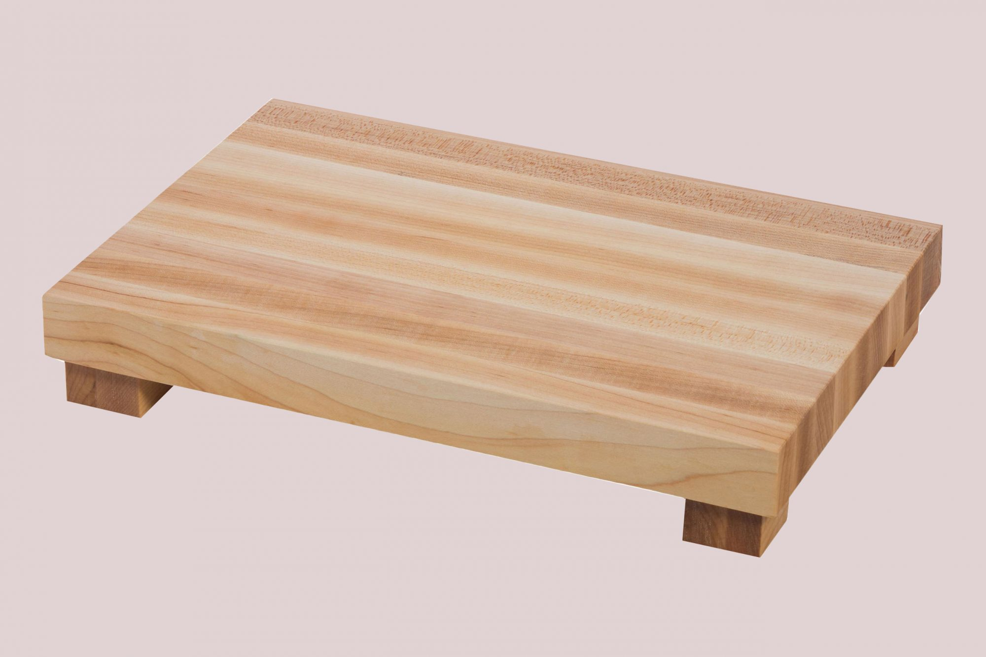 medium wood serving block