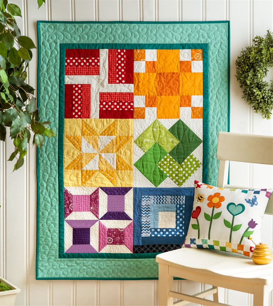 shabby fabrics learn to quilt kit