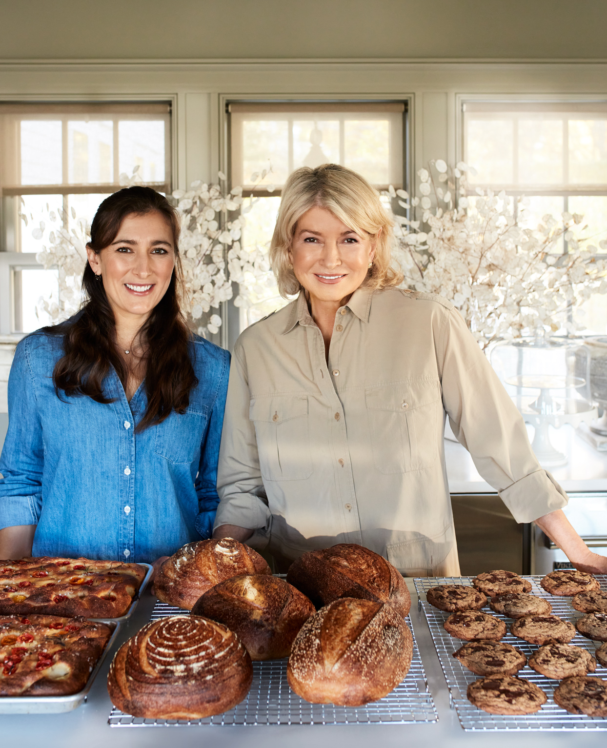Martha with Sophie Herbert Slater and sourdough recipes