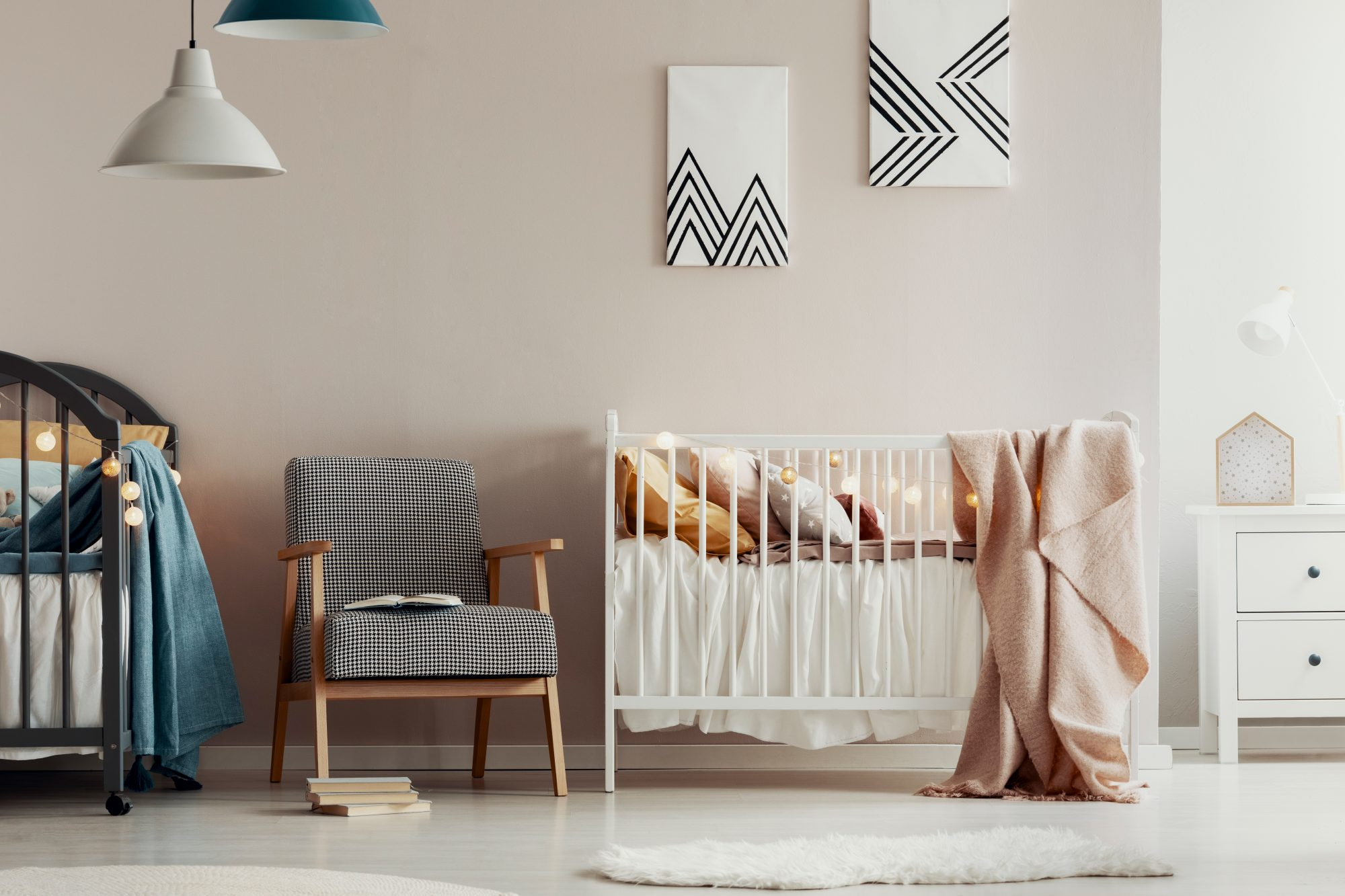 soothing baby nursery paint colors