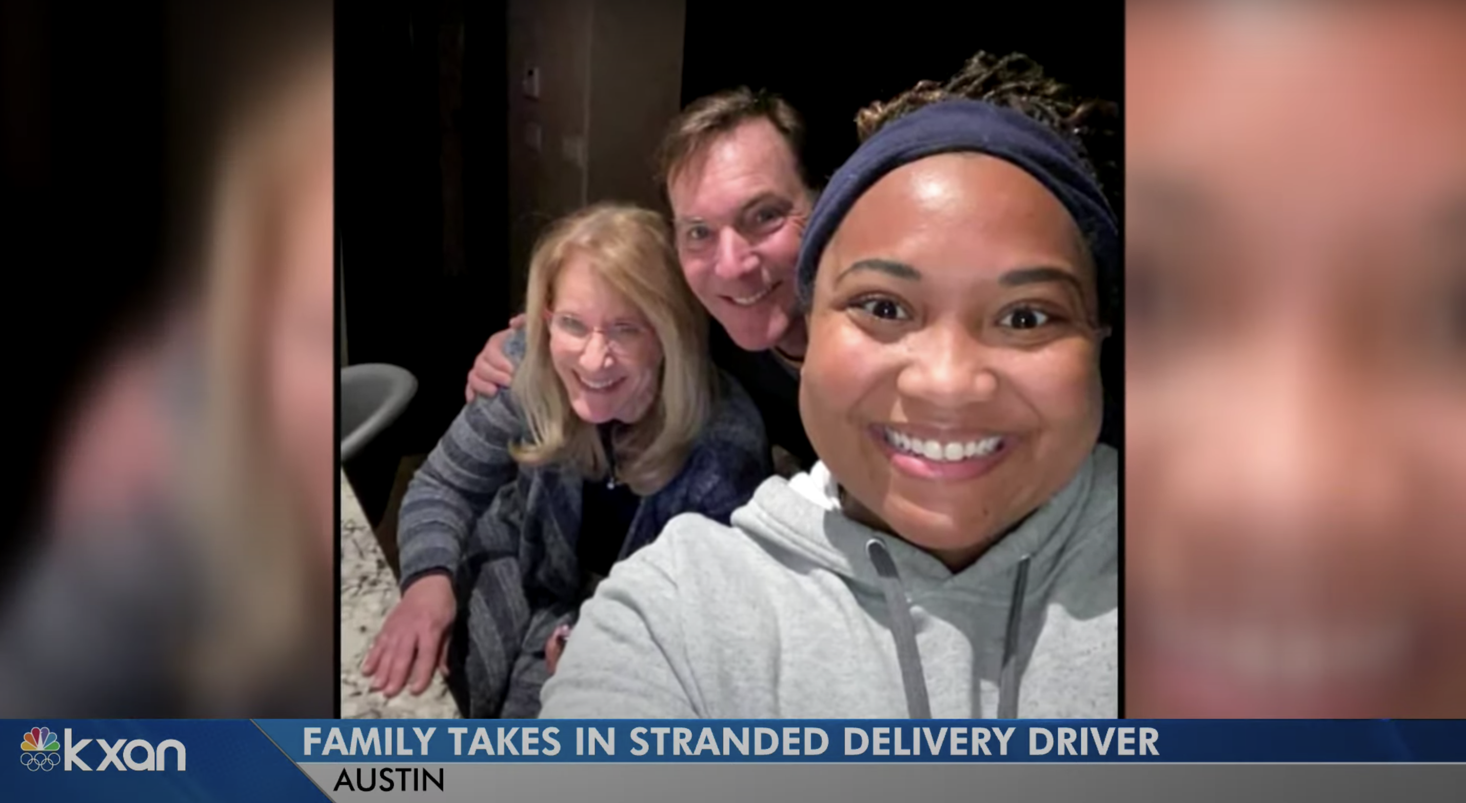 texas couple and delivery driver