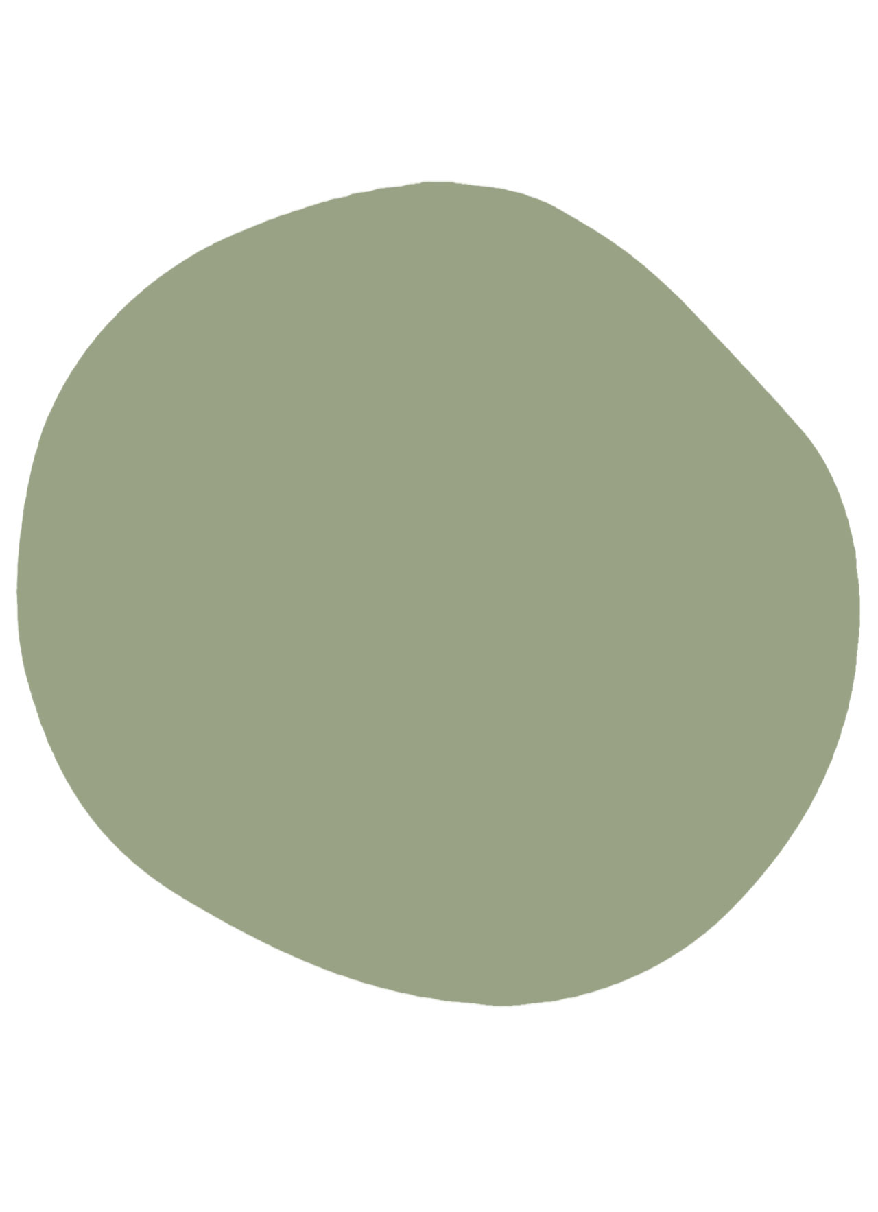 Moody Green Paint color