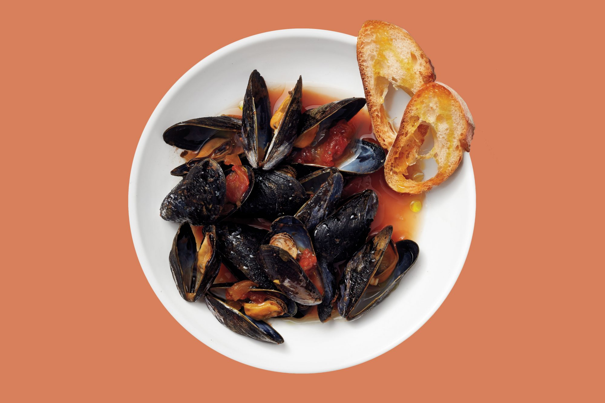 Mussels Picante in salsa