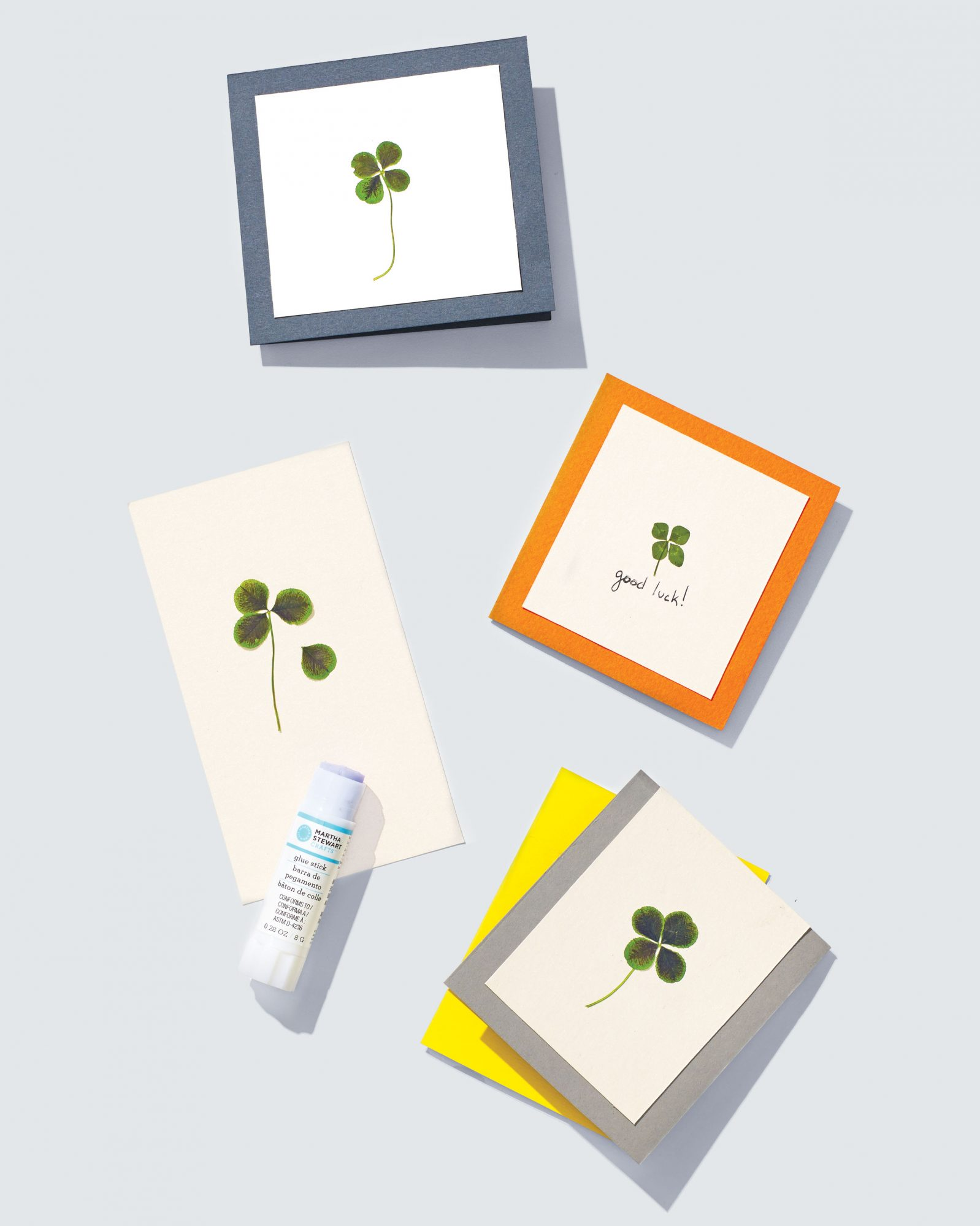 pressed-clover-card