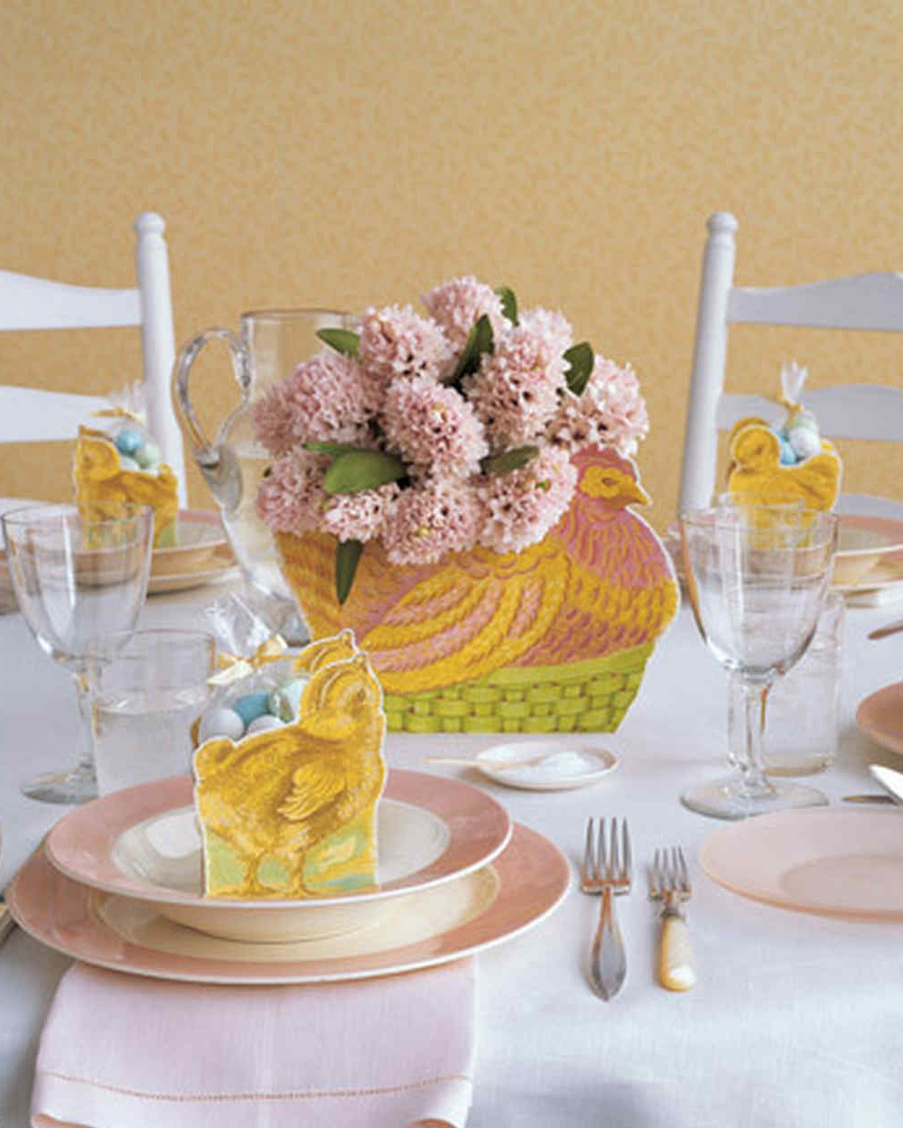 hen and chick centerpiece