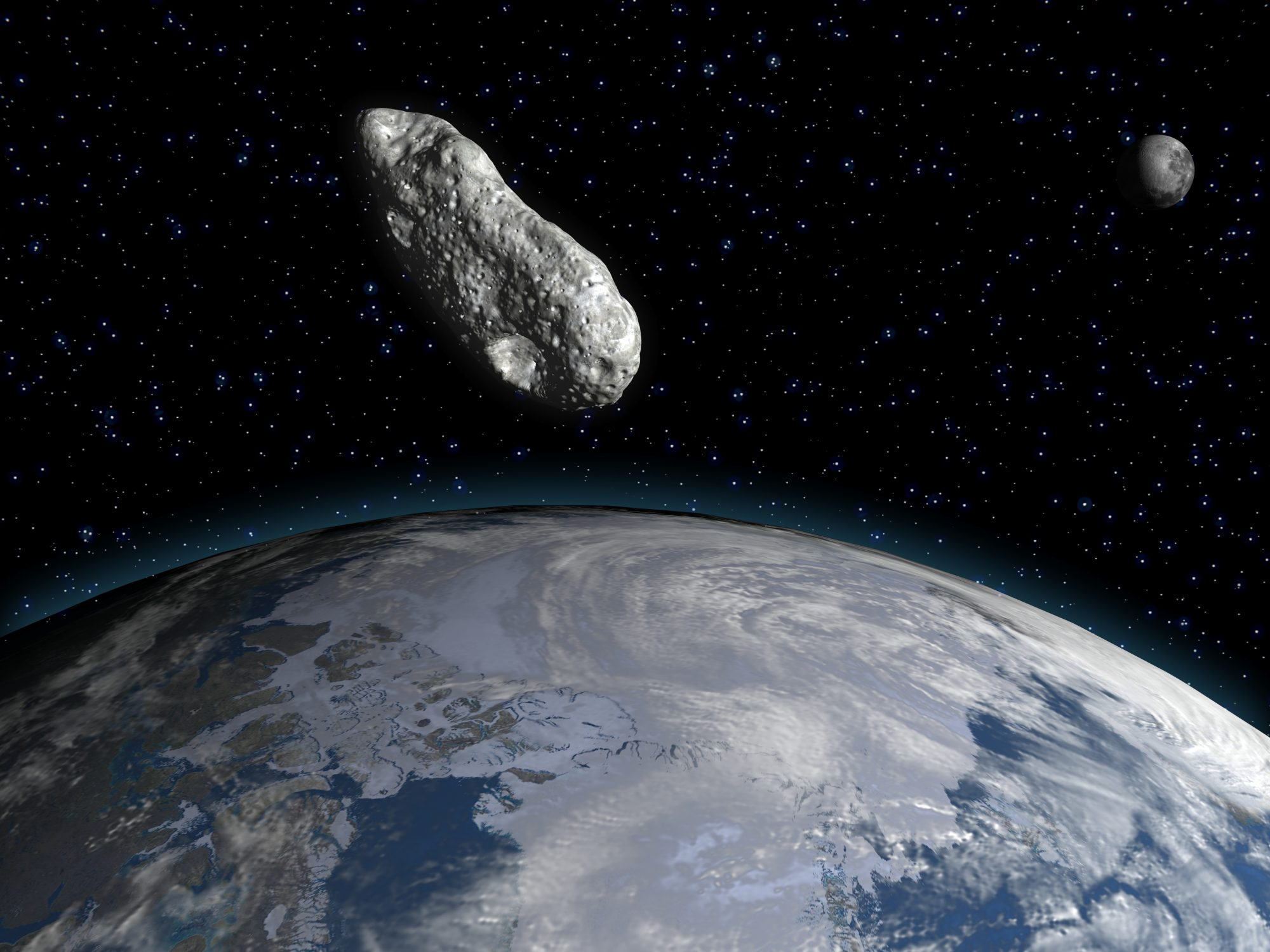 large asteroid passing earths orbit