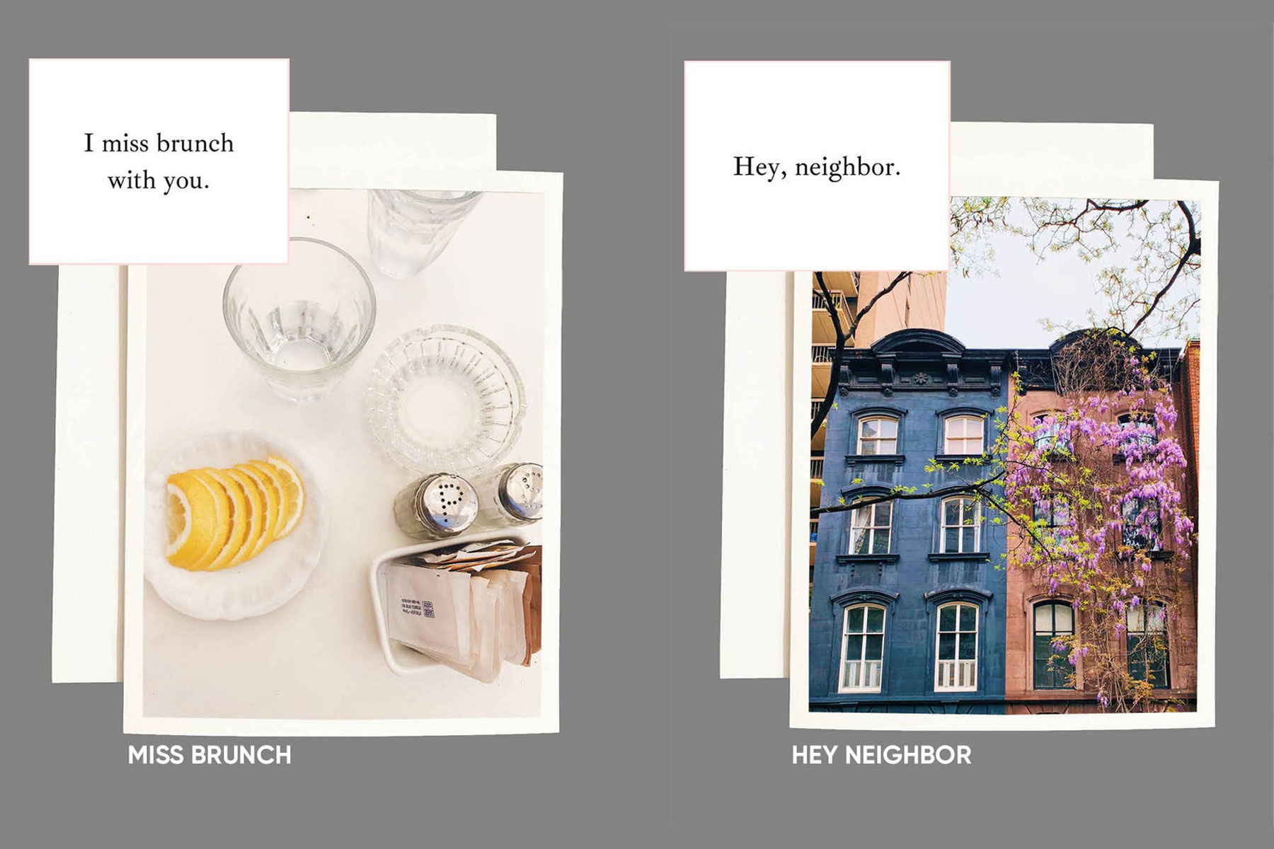 city greeting cards
