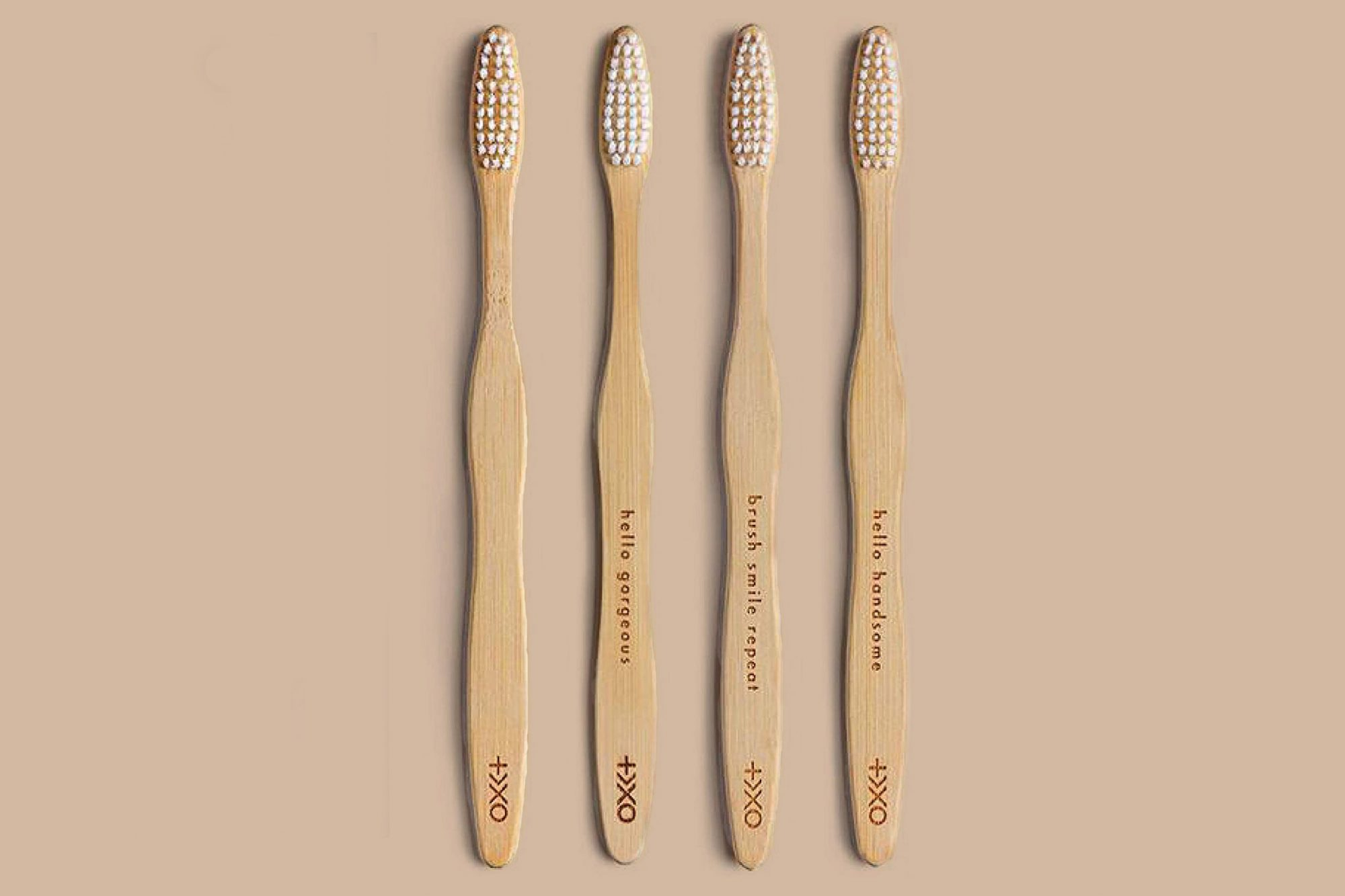 four plus ultra bambo toothbrushes