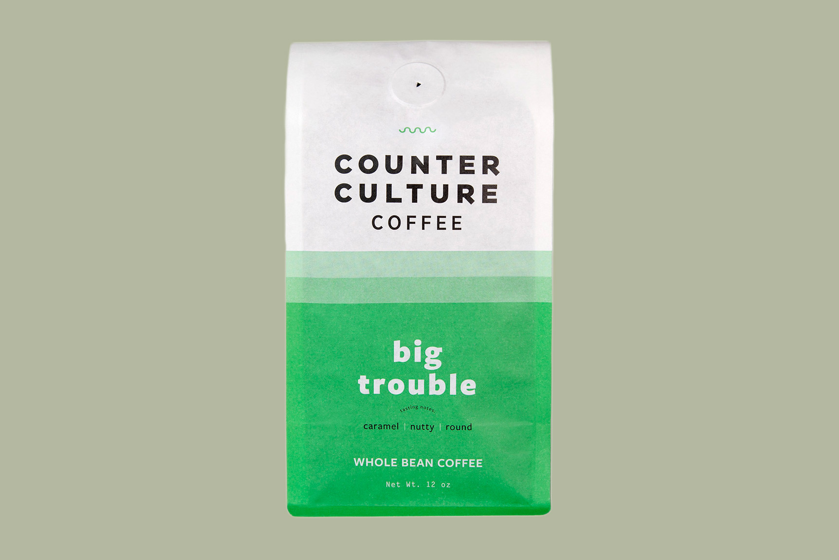 bag of counter culture coffee