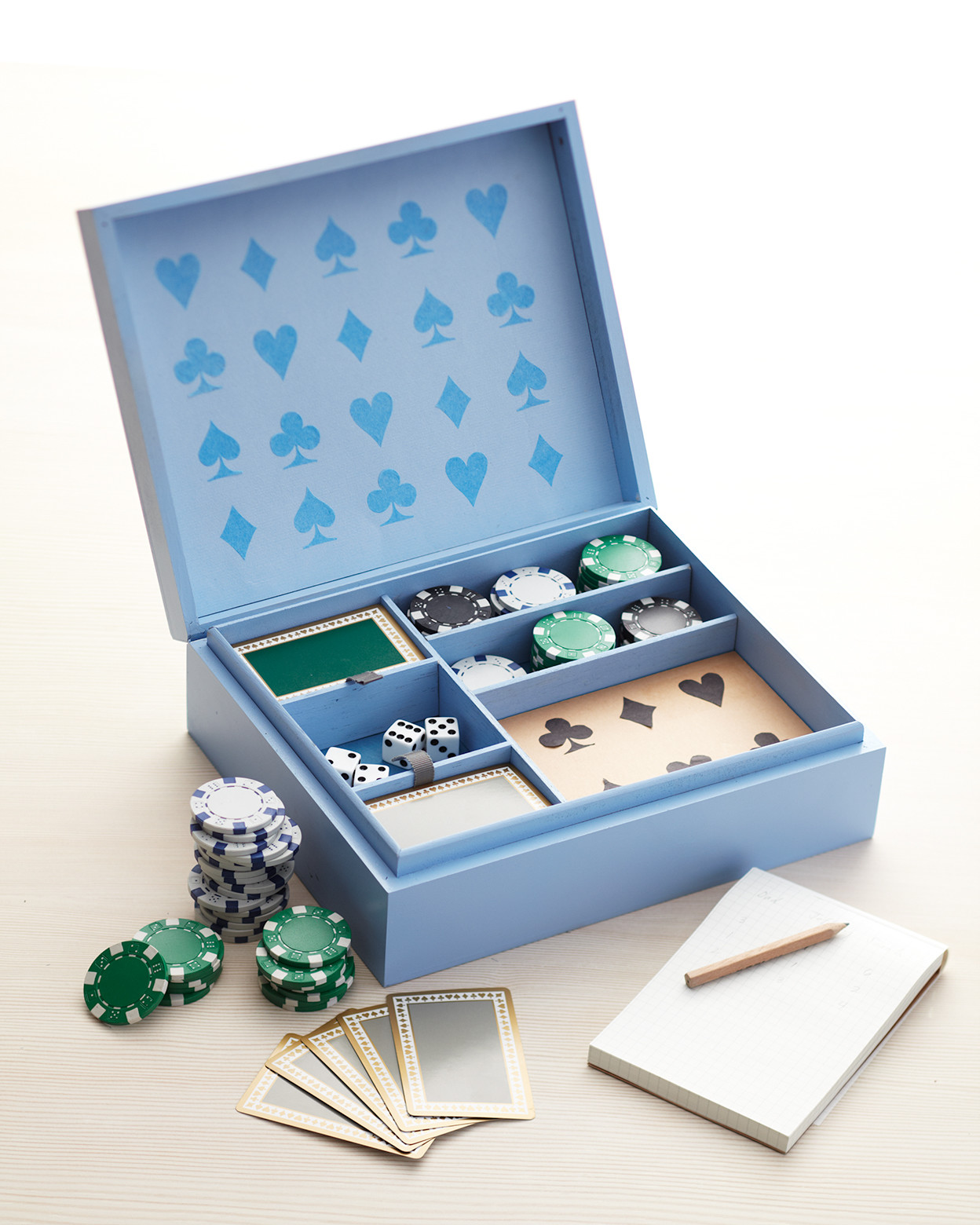 Father's Day poker game box