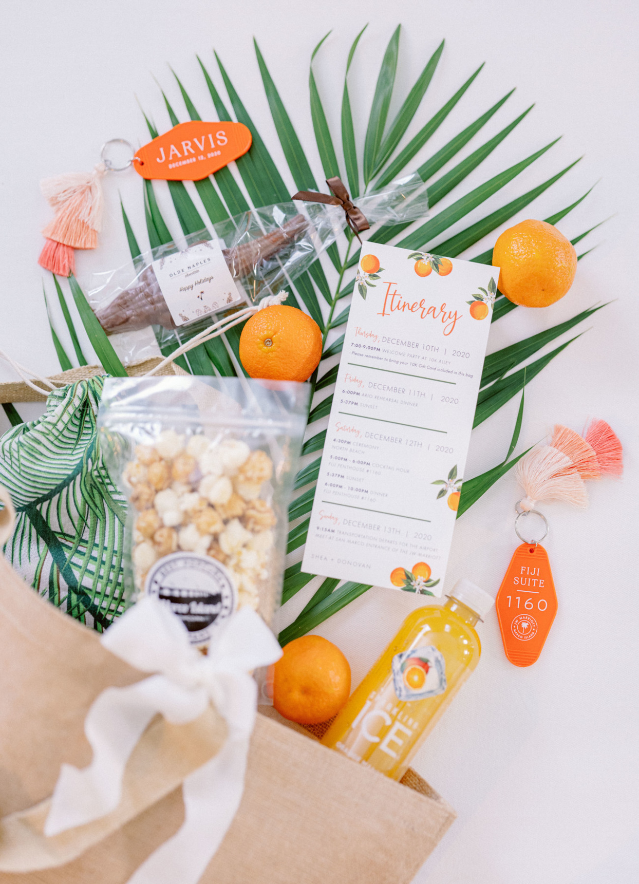 welcome bags for wedding
