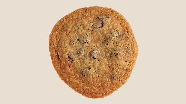 The difference between thin and crispy cookies and soft and chewy cookies is the proportion of ingredients—this recipe calls for a bit more butter and granulated sugar than you'll find in other recipes, which creates an extra-crunchy cookie.