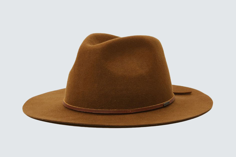 Brixton Wesley Packable Fedora