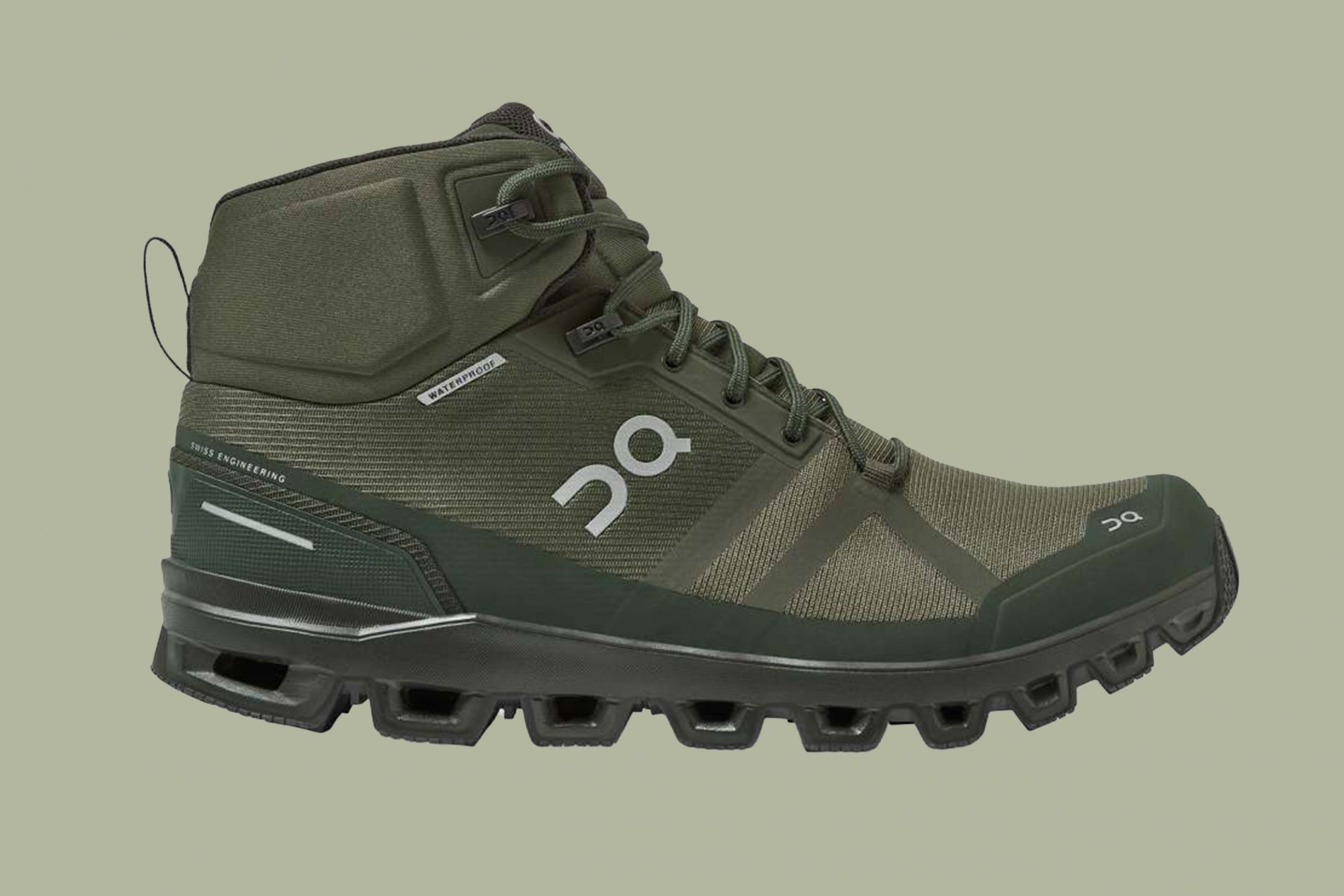 On Cloudrock Waterproof Speed Hiking Boots