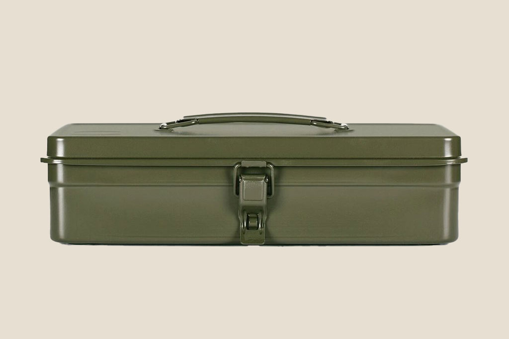 Toyo Olive Green Toolbox