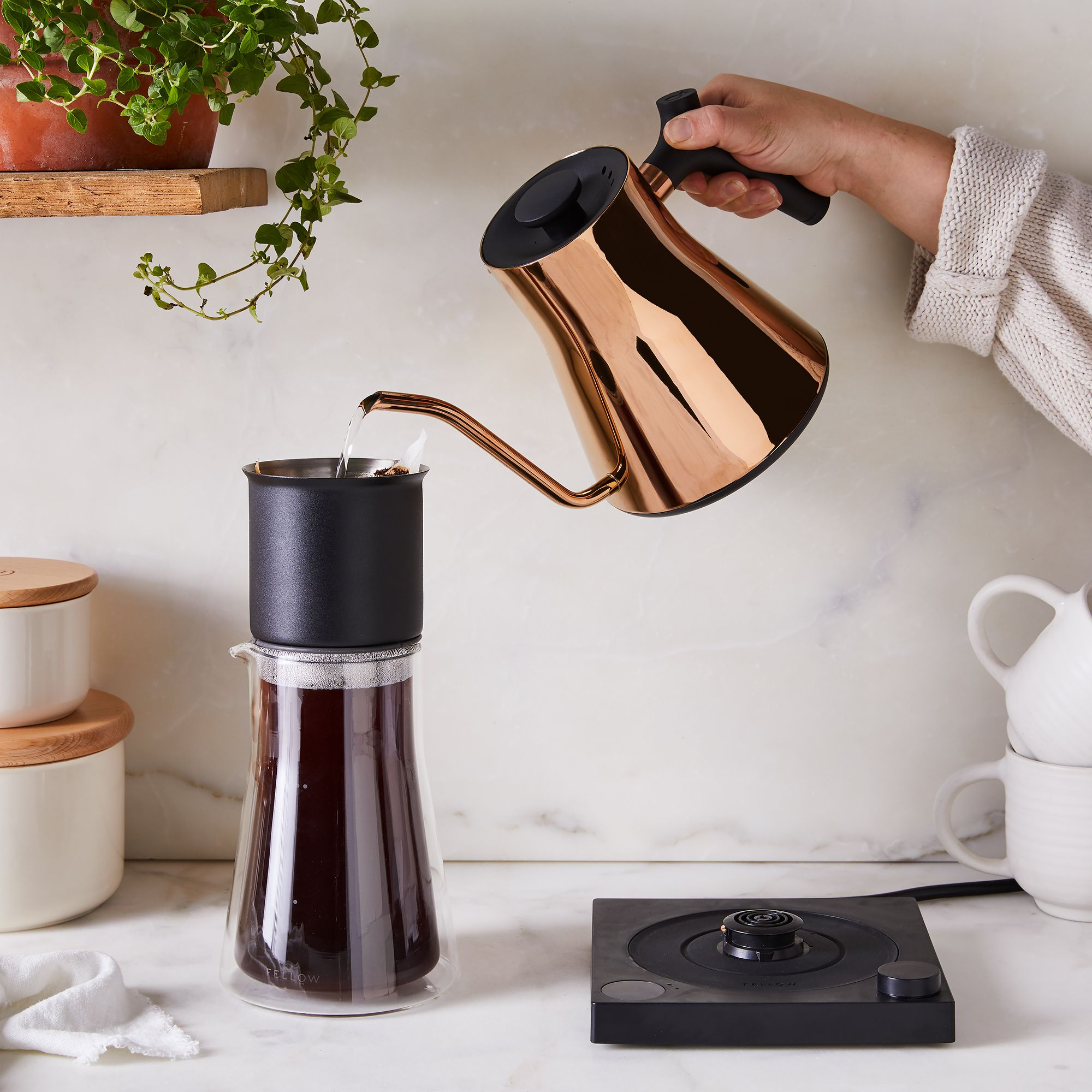 fellow stagg electric kettle pour over