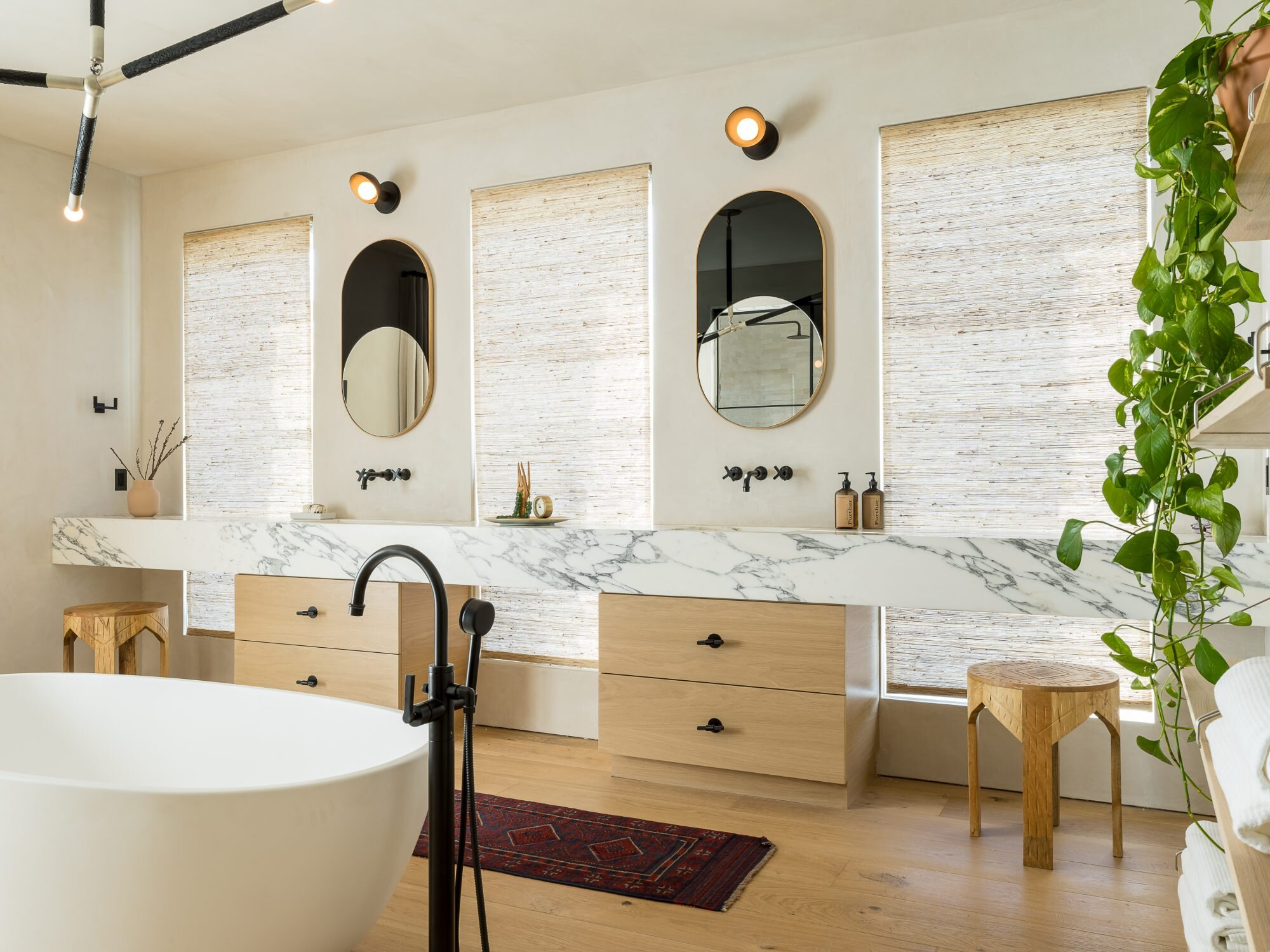 How To Clean Every Part Of Your Bathroom Martha Stewart
