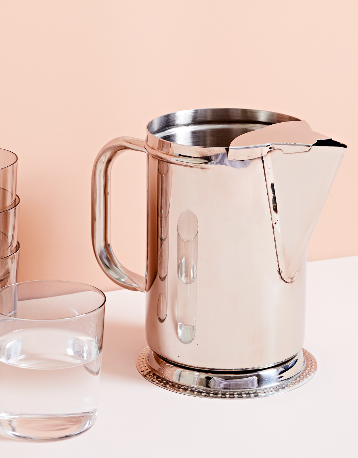 winco stainless steel pitcher