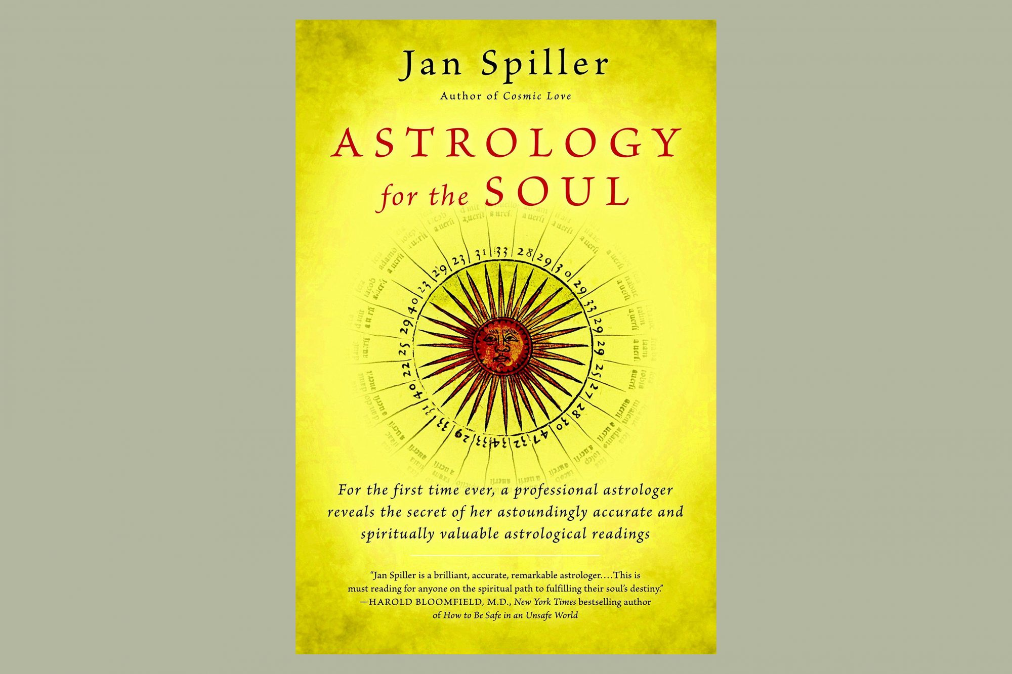 book jacket of astrology for the soul