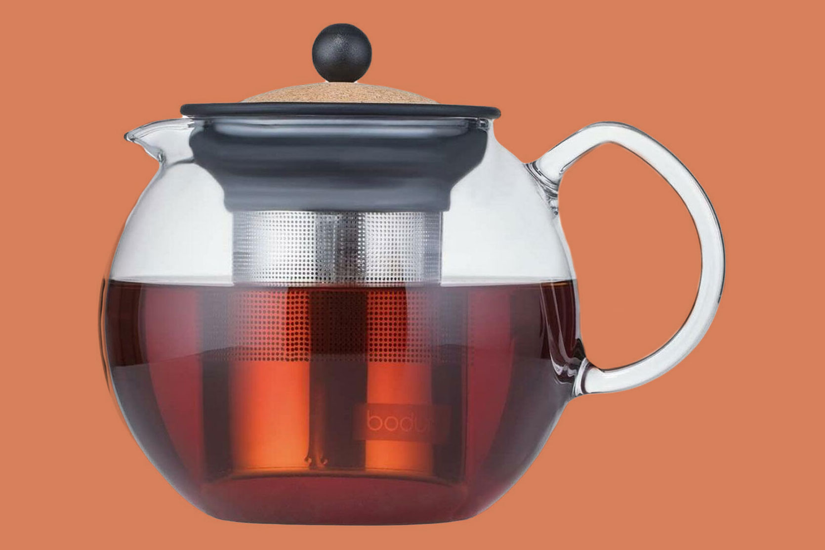 Bodum Assam Glass Teapot with Stainless Steel Filter