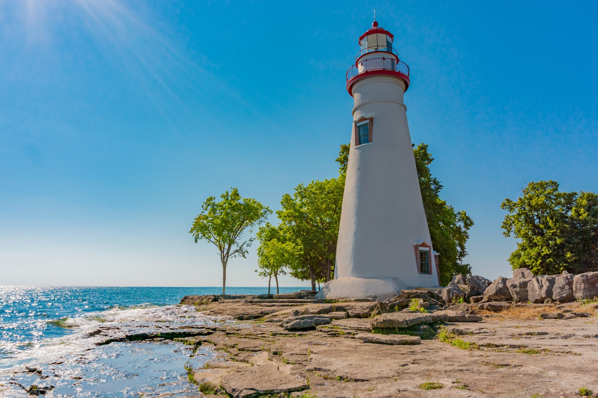 Marblehead Lighthouse Lake Erie