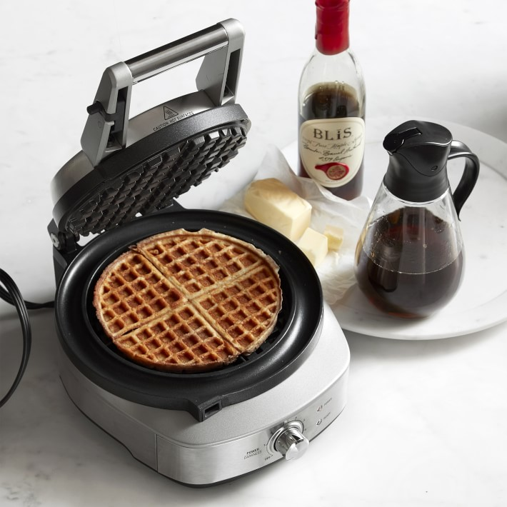 Breville No-Mess Classic Round Waffle Maker