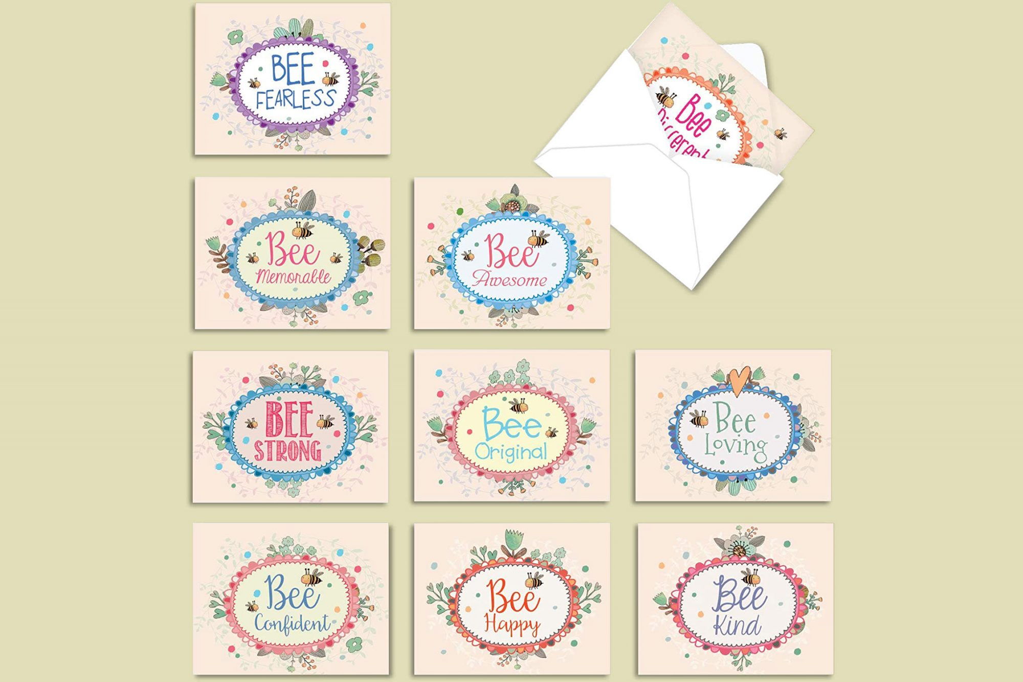 The Best Card Company Let It Bee Cards