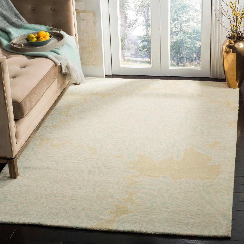 martha stewart chrysanthemum wool rug