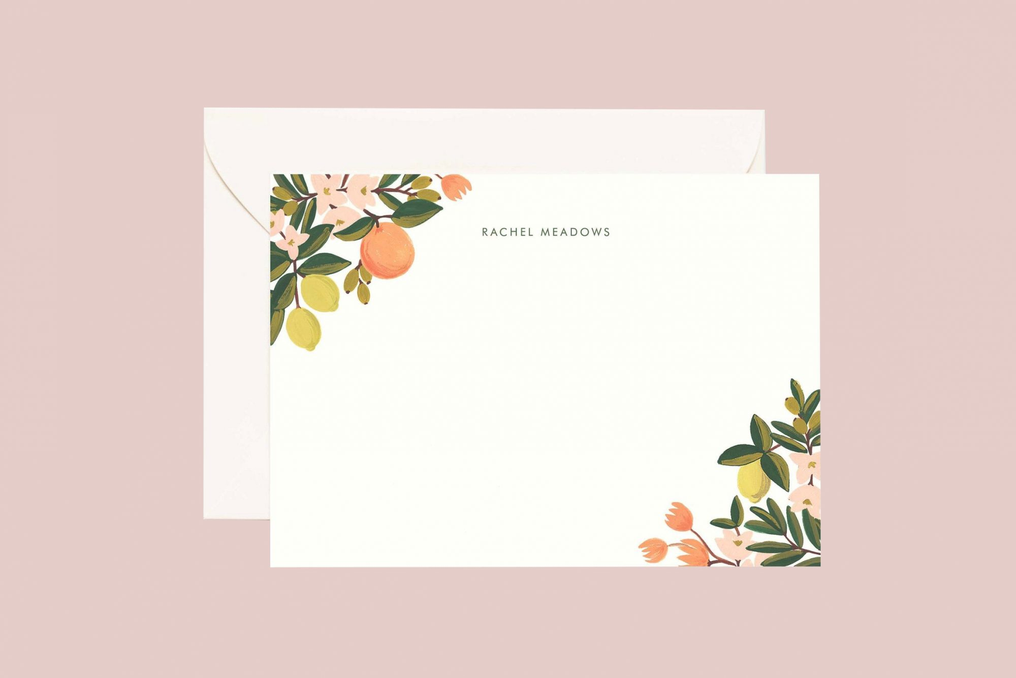 Rifle Paper Co. Personalized Stationery