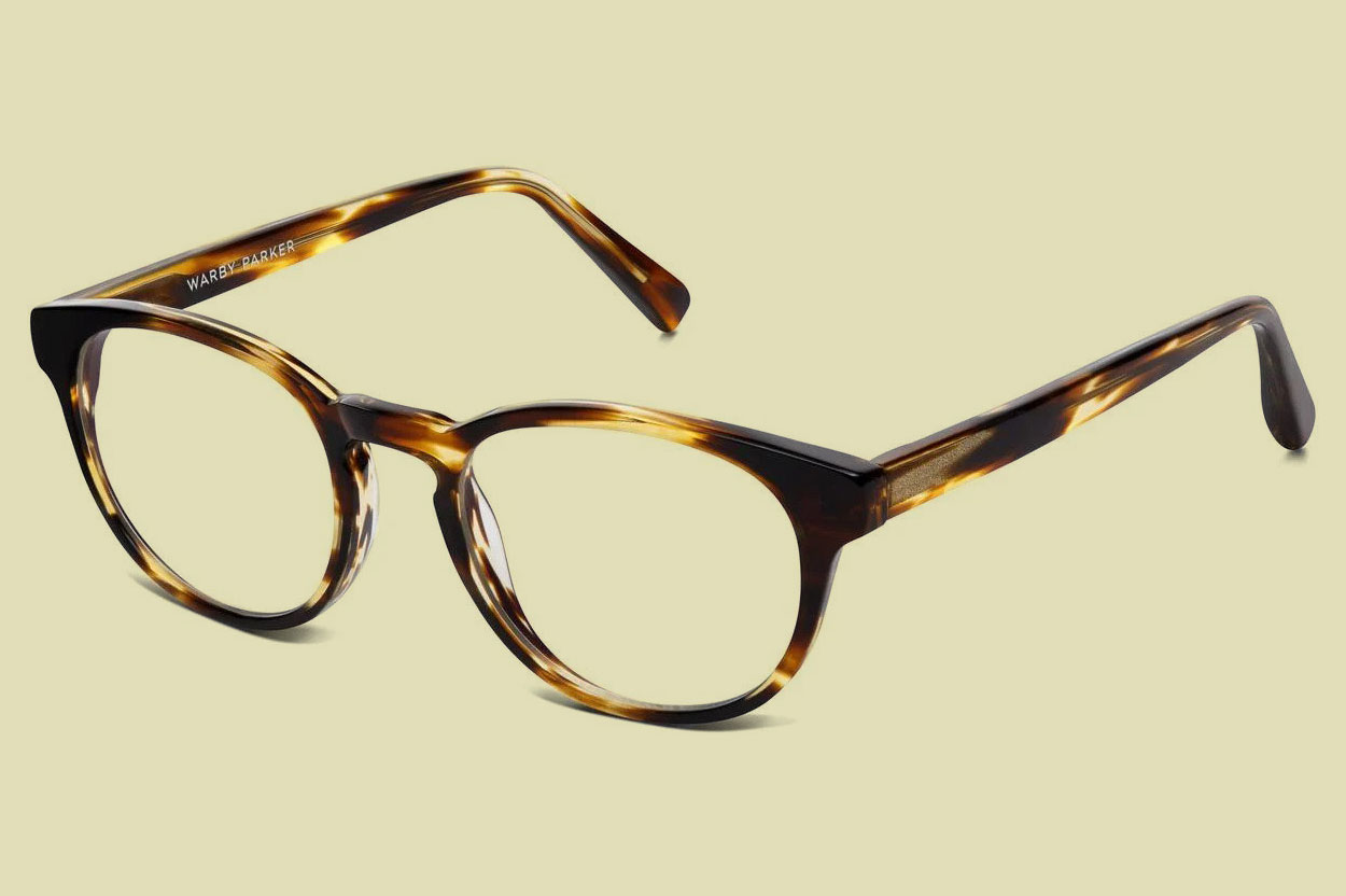 Warby Parker Percey striped Glasses