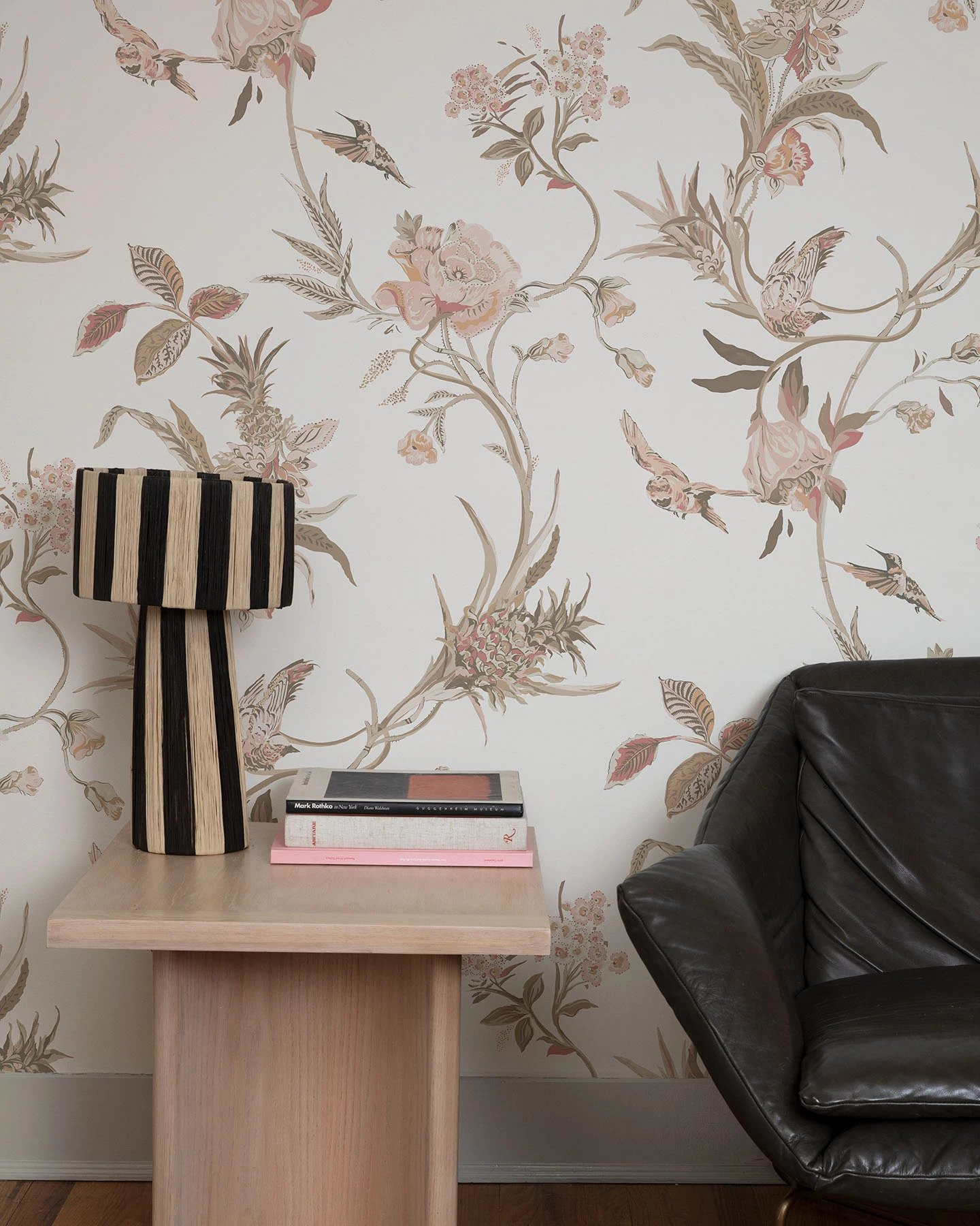 The Lawns Co Quint Botanical Wallpaper in Clay