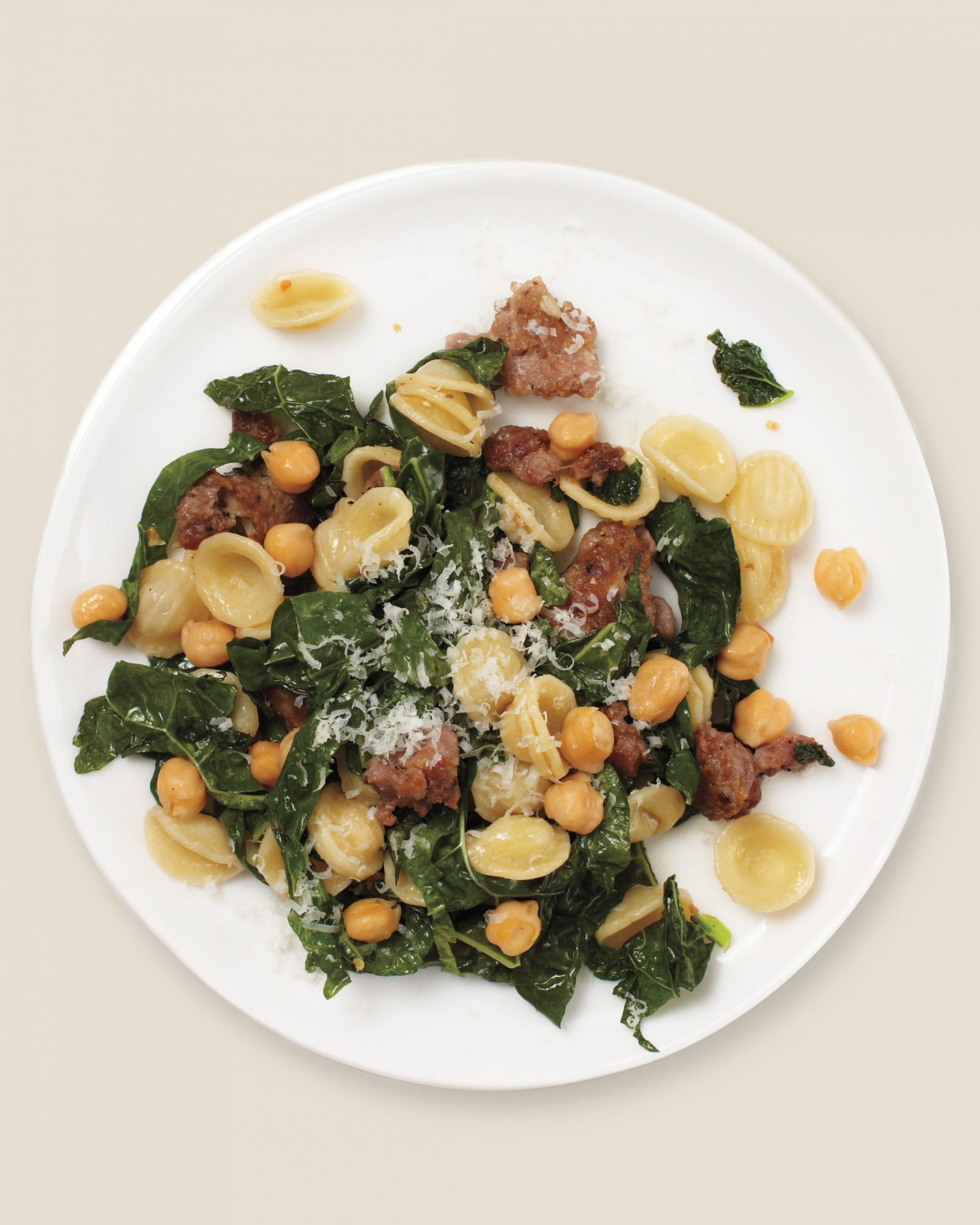 chickpea kale and sausage