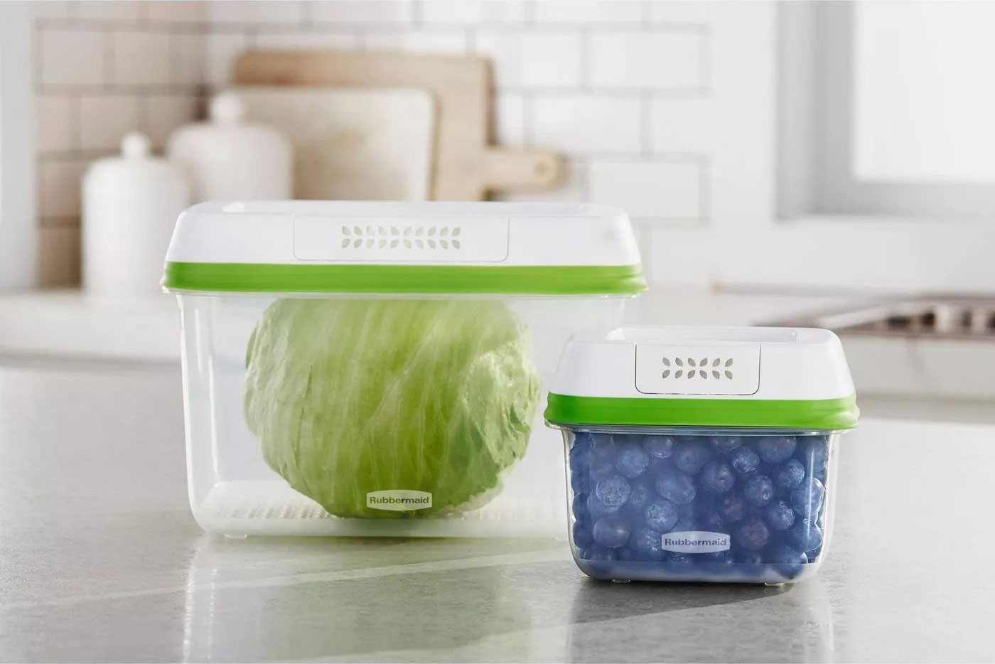 Rubbermaid Freshworks 2.0 Containers