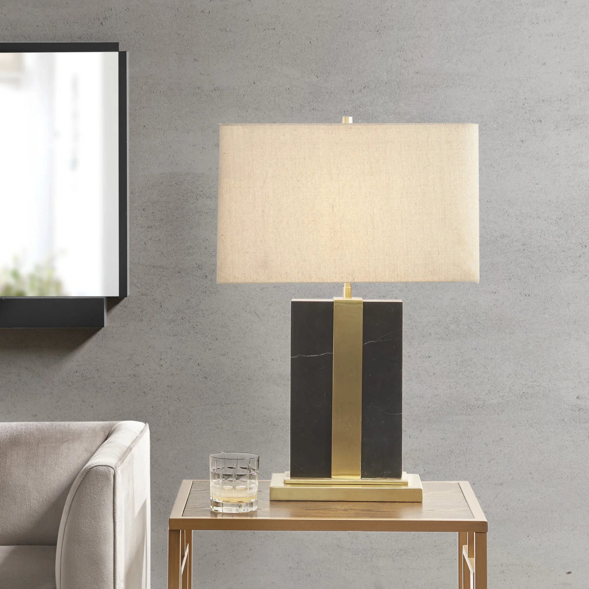 Martha Stewart Barclay 25 inch Table Lamp